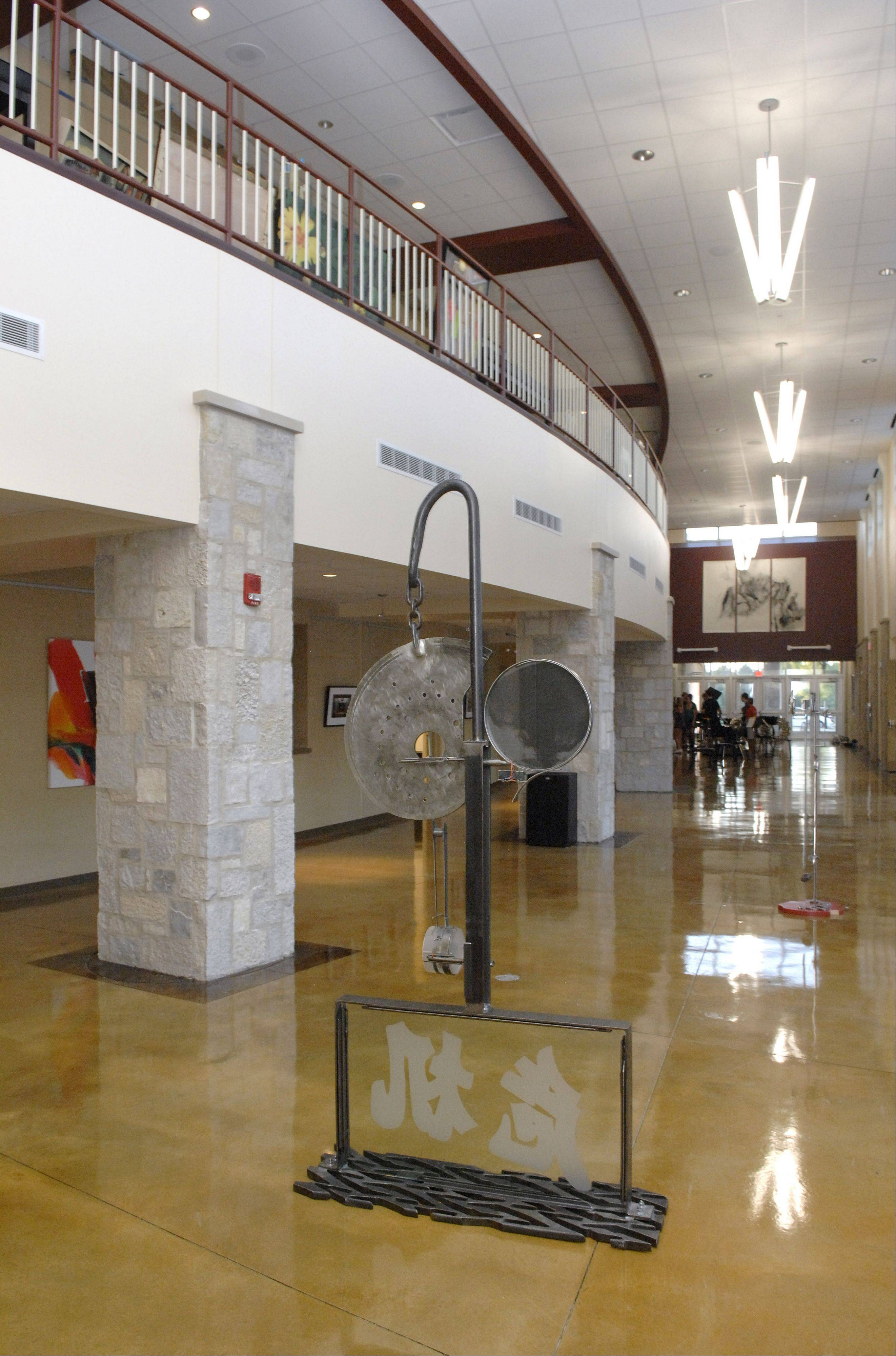 Another view of the Batavia Fine Arts Centre lobby, which opens to the public Saturday.