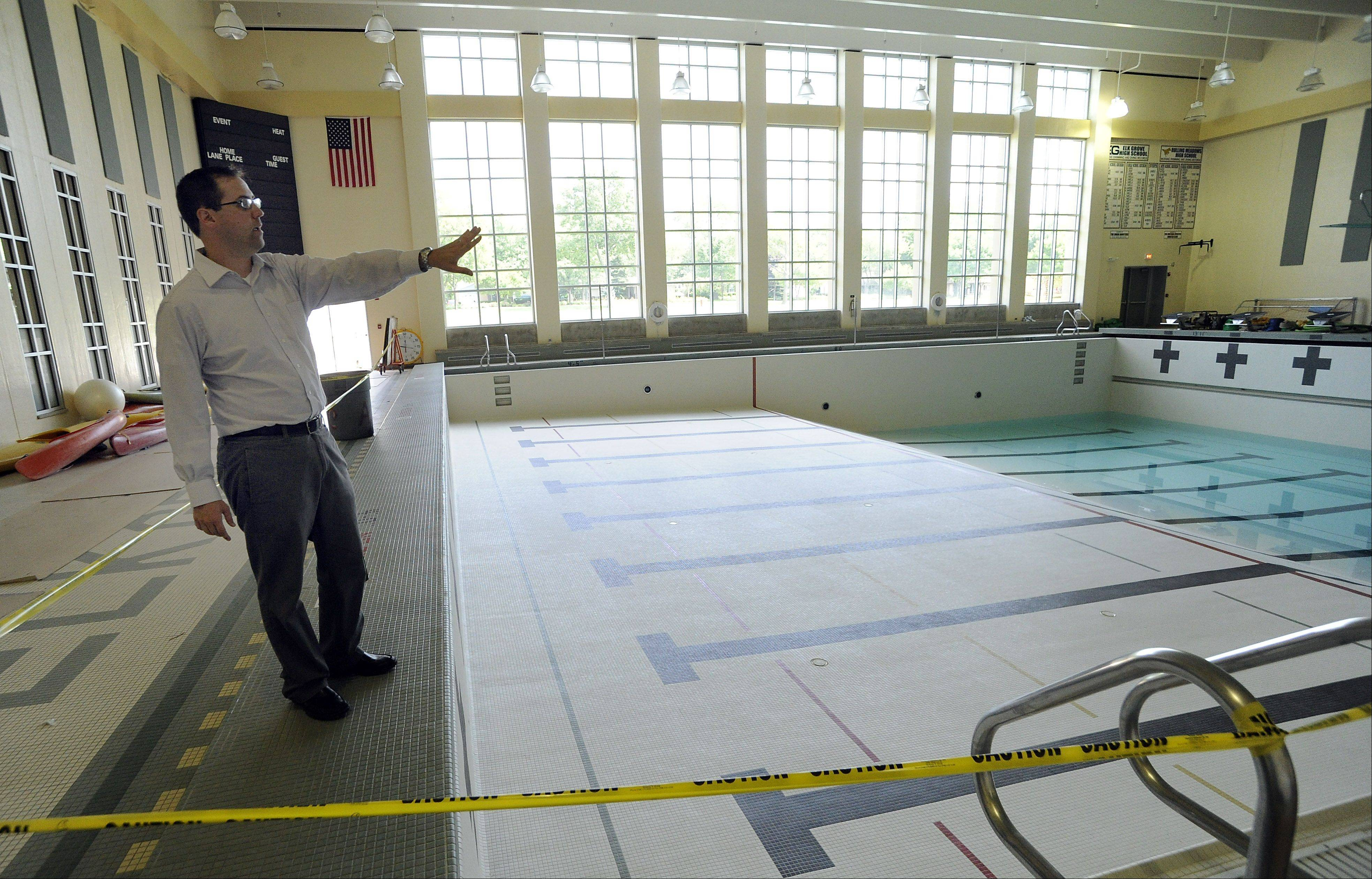 Elk Grove High's pool still closed from flood