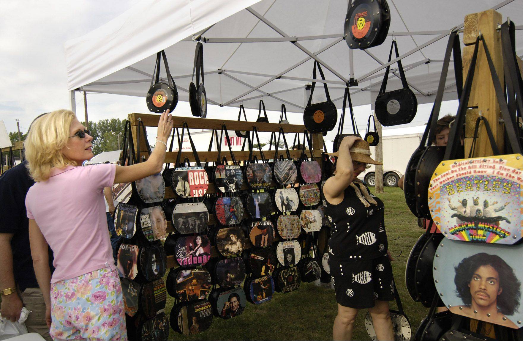 Shoppers at the All Night Flea Market in Wheaton will find everything from antiques to vintage clothing and handmade items.