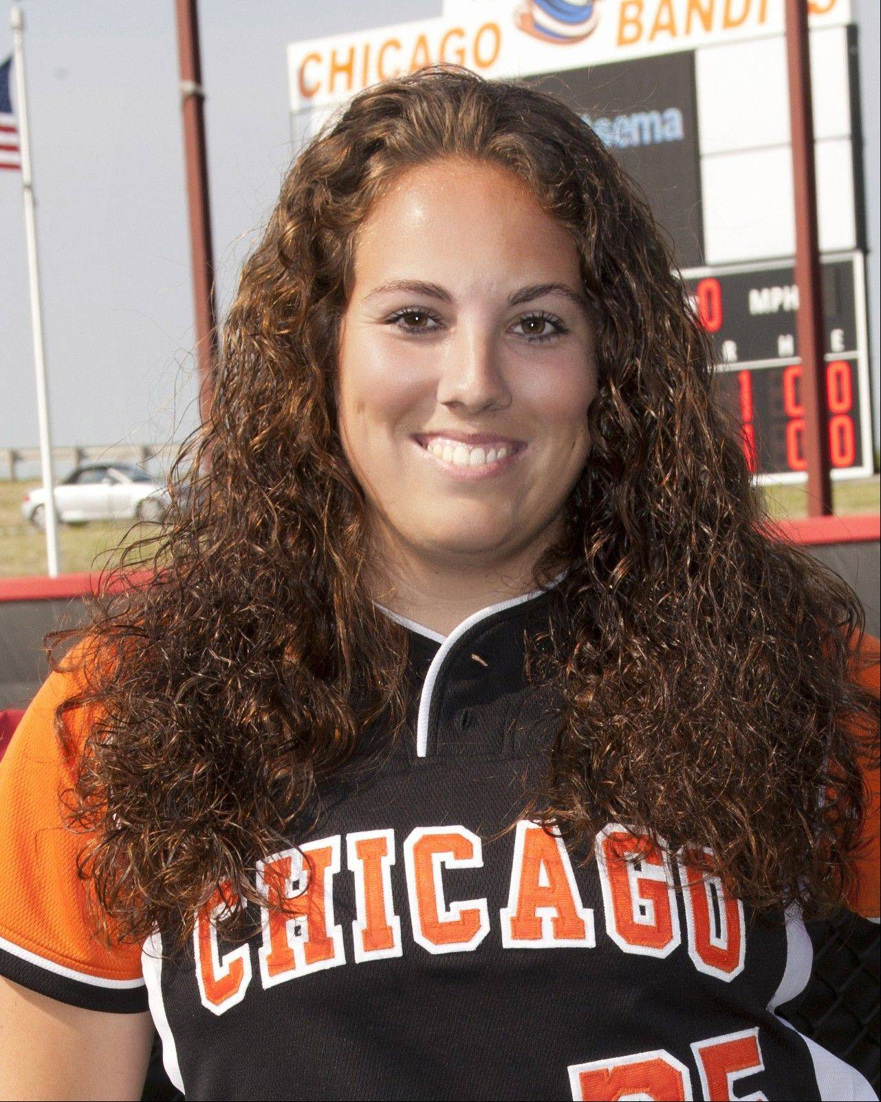 Alisa Goler of the Bandits earned Rookie of the Year honors in the NPF.