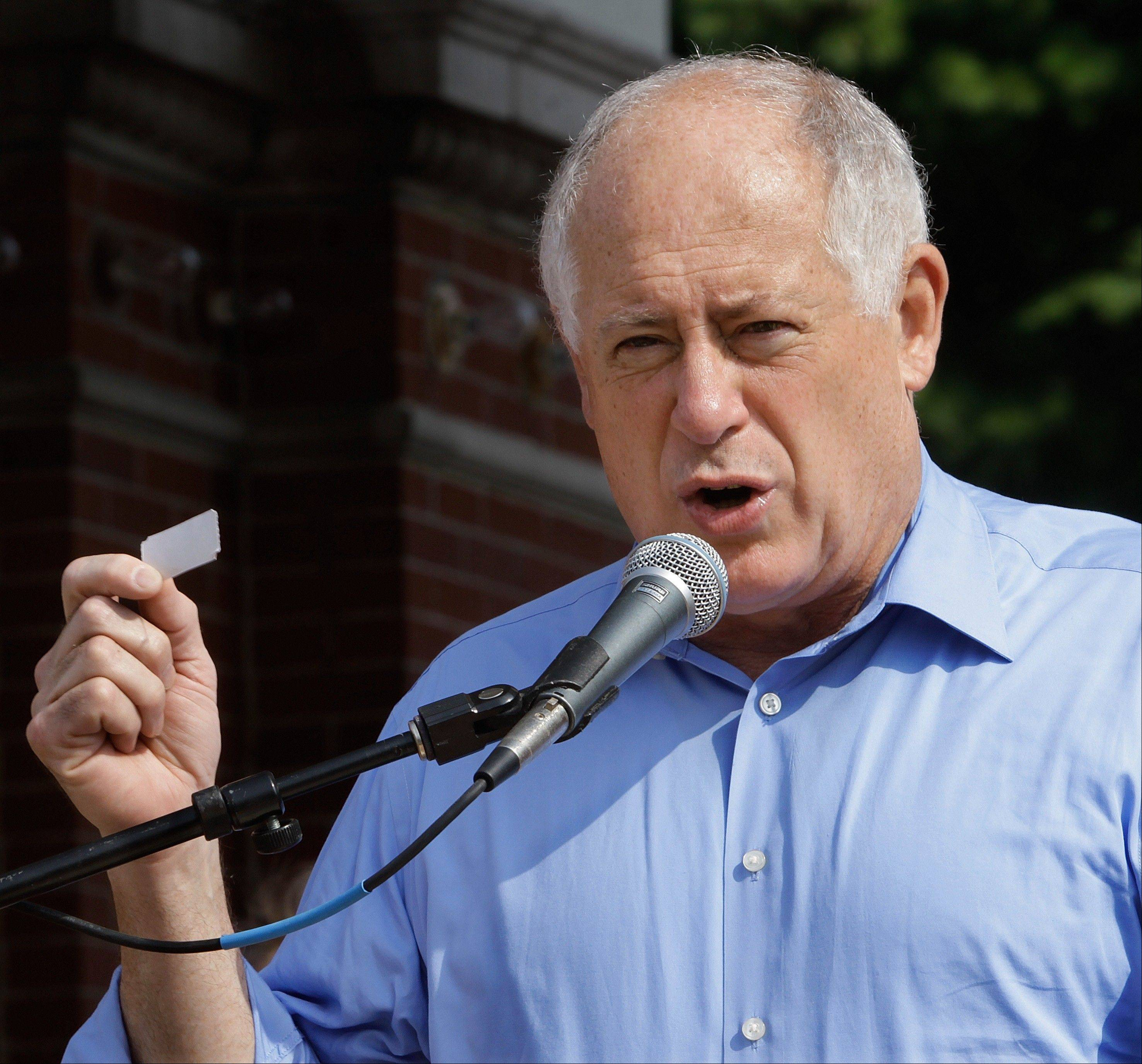 Associated Press Governor Pat Quinn holds the fate of Illinois horse racing in his hands, according to Barry Rozner