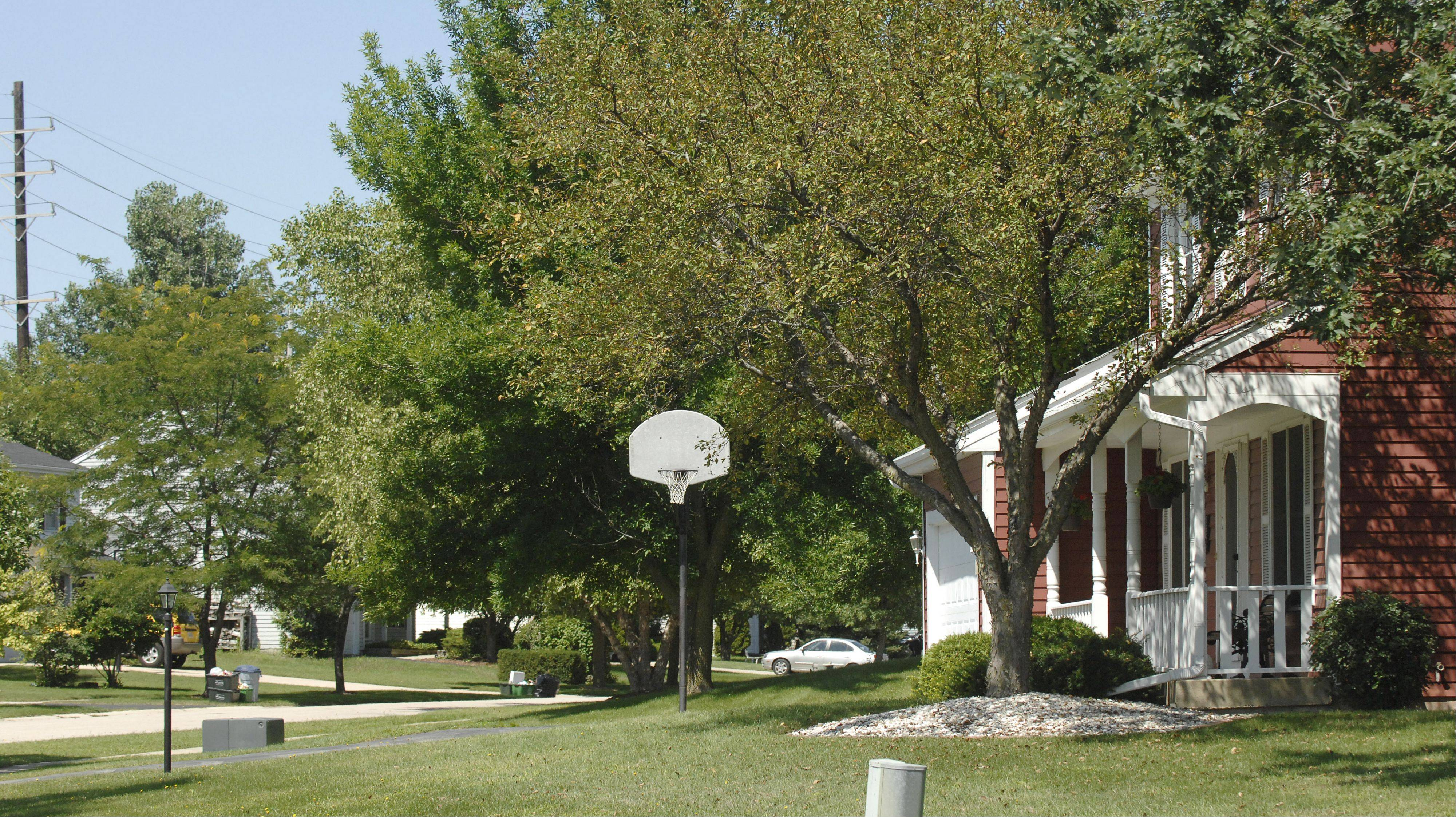 Batavia's Cherry Park neighborhood is close to shopping and area parks and forest preserves.