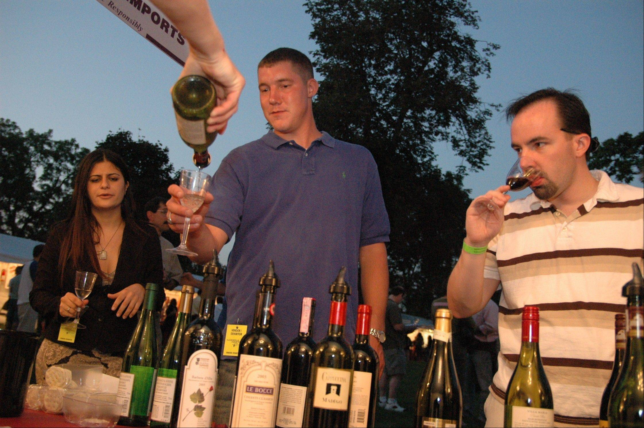 This year the annual Naperville Wine Festival is moving to a new location at the CityGate Centre in Naperville.