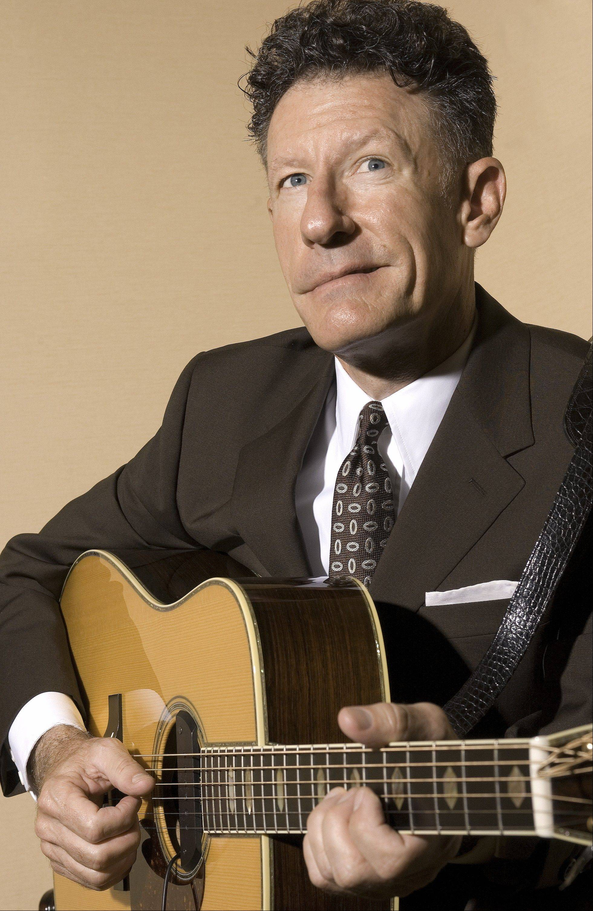 Associated Press Lyle Lovett & His Large Band plays the Ravinia Festival on Sunday, Aug. 21.