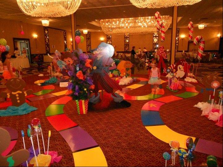 Atia Lutarewych, 3, was one of about 250 people to play Life Size Candy Land at her Celebration of Life event held recently at Chateau Ritz in Niles. The event raised $8,500 for Atia's Project Ladybug Fund, a nonprofit organization that helps children with cancer and their families.