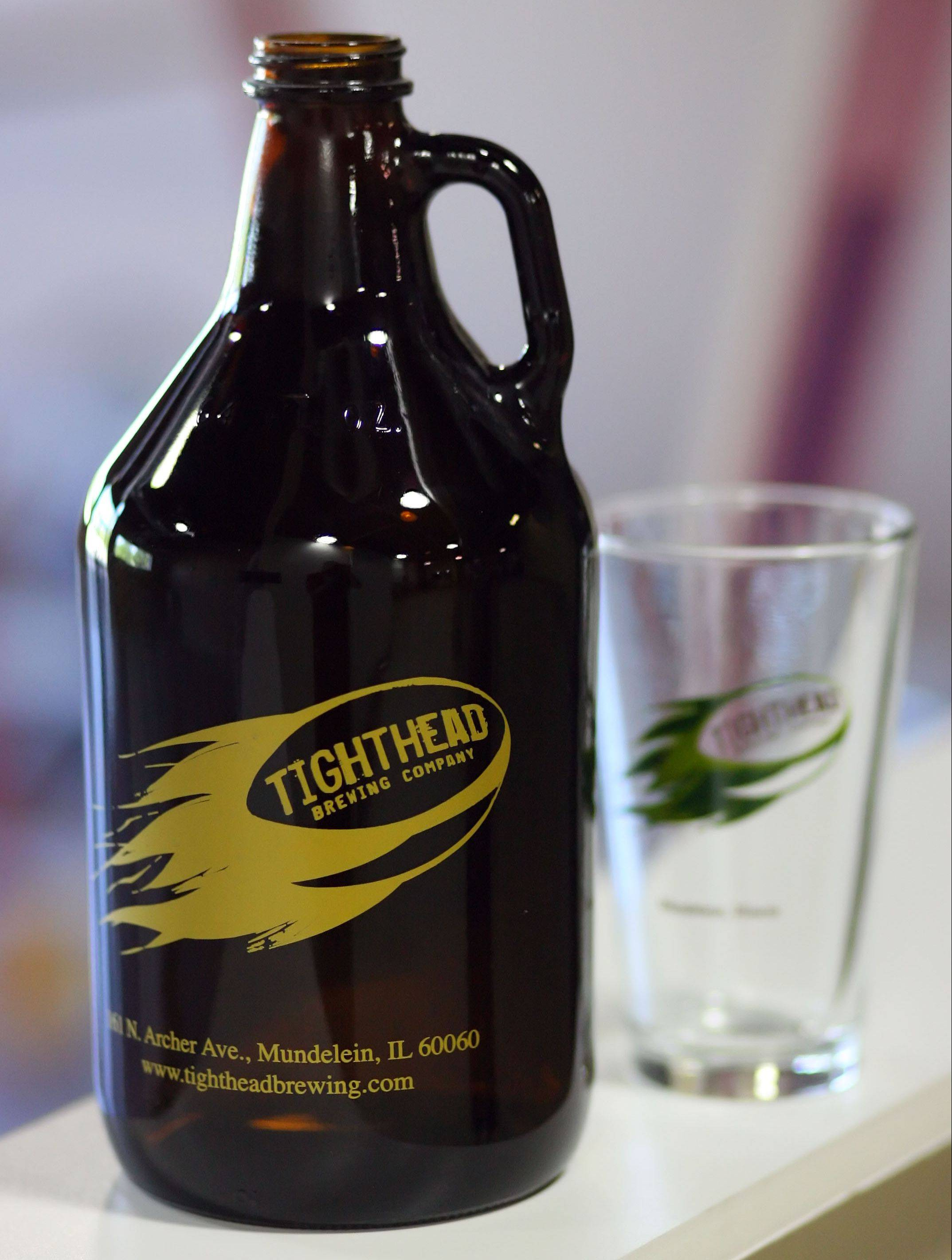 Tighthead Brewing, near the Metra station in Mundelein, will sell 64-ounce jugs of beer known as growlers.
