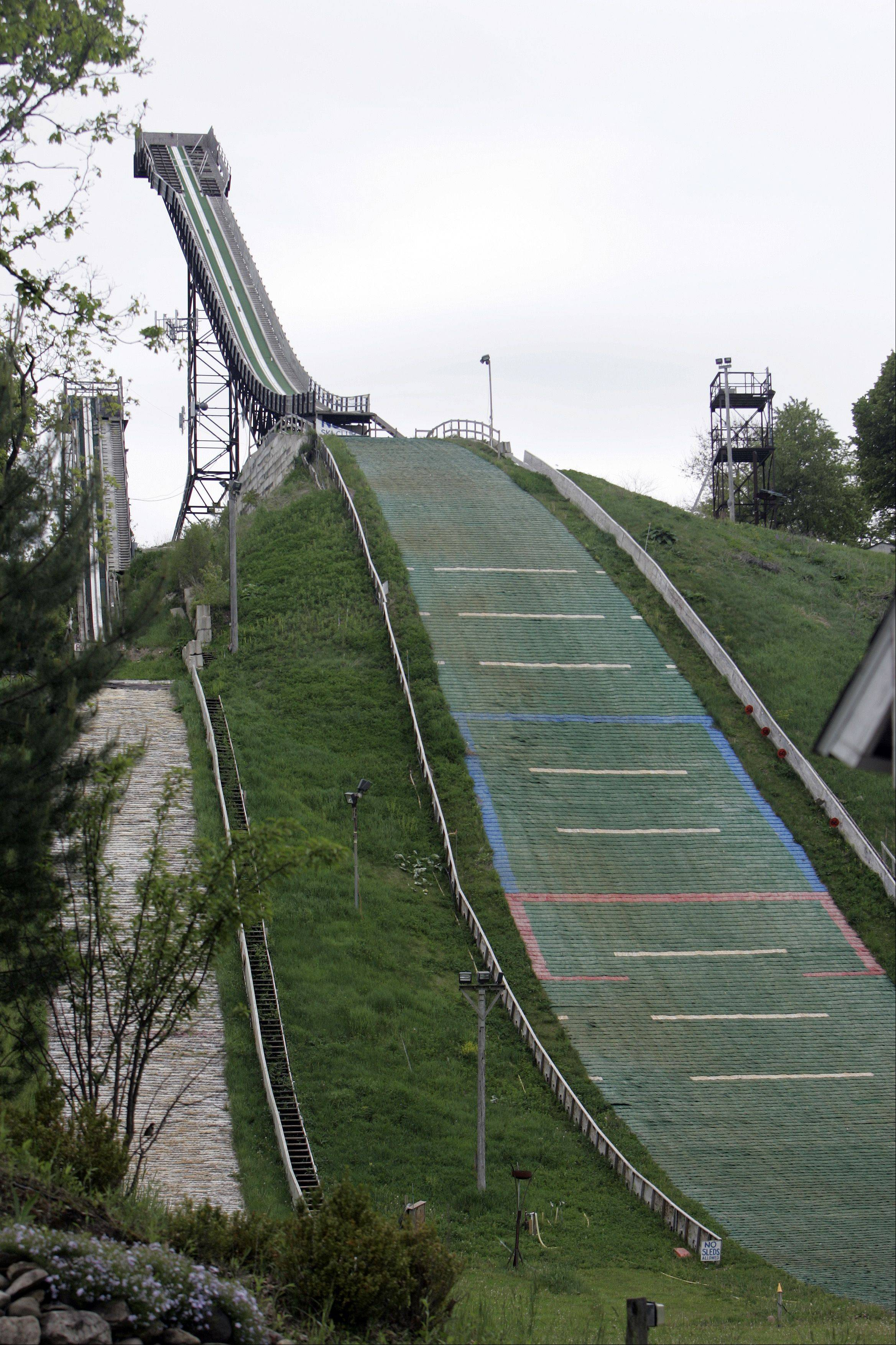 The hill at Norge Ski Club will be at 70 meters for the U.S. Championships.