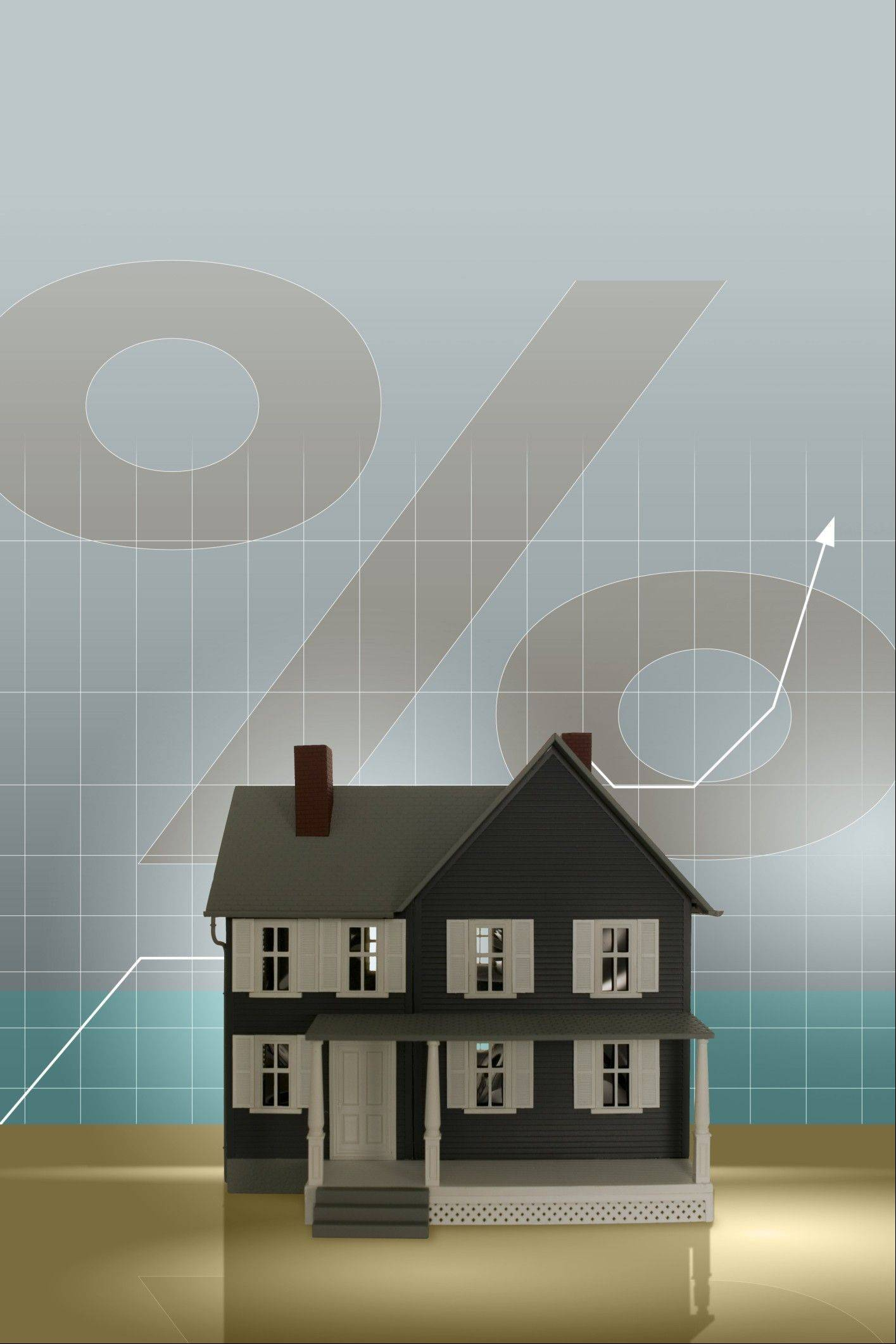 The majority of mortgages come with a fixed interest rate over the life of the loan. Rates have been hovering near record lows for the past year, which is why it's a good time to refinance or consider becoming a homeowner.