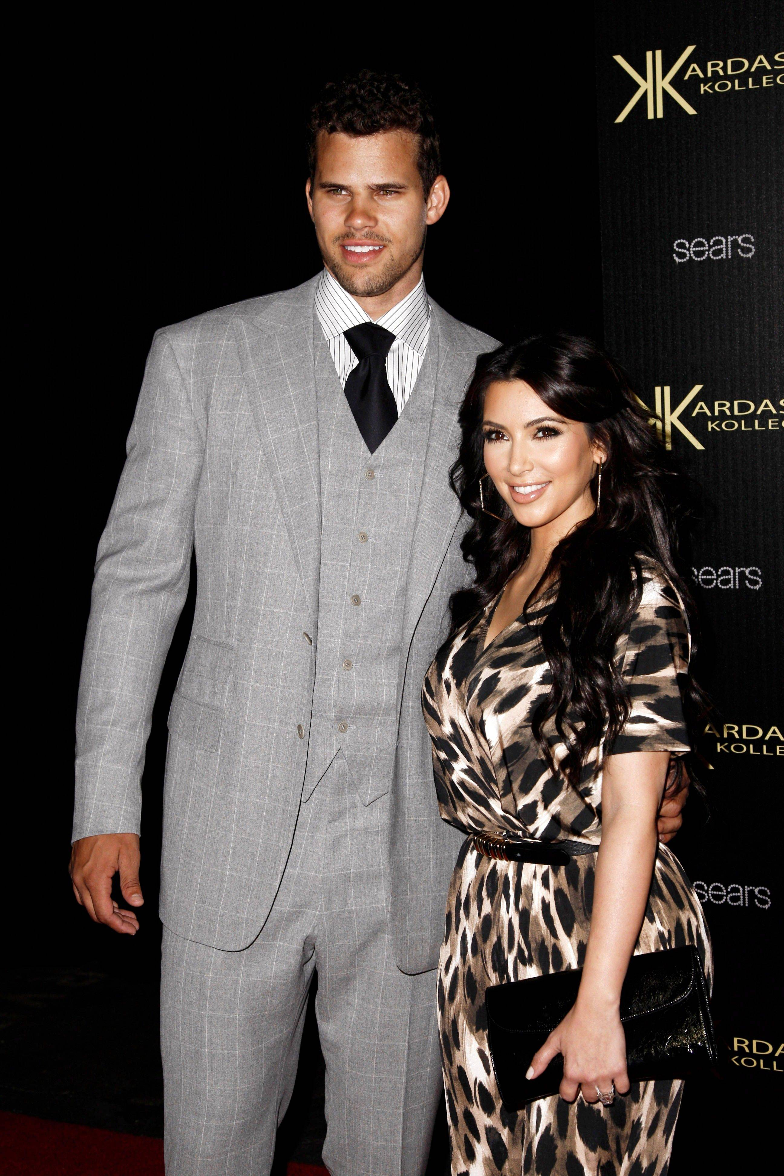 Kim Kardashian and NBA basketball player Kris Humphries were married Saturday in Montecito, Calif.