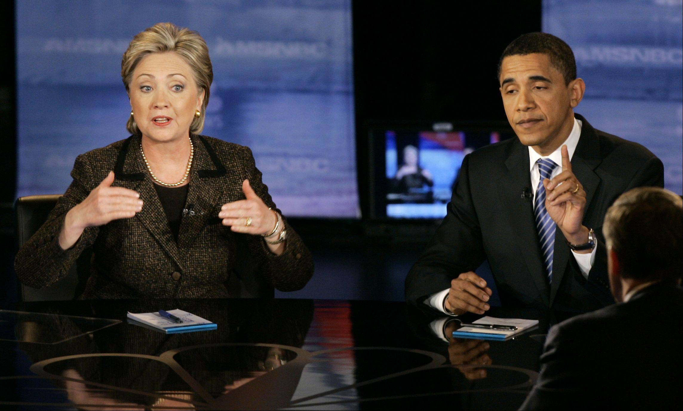 Three years ago, Hillary Rodham Clinton and President Barack Obama were battling it out for the Democratic presidential nomination. This year, there's a strong united front with Clinton's former fundraisers generating money for the Obama campaign.
