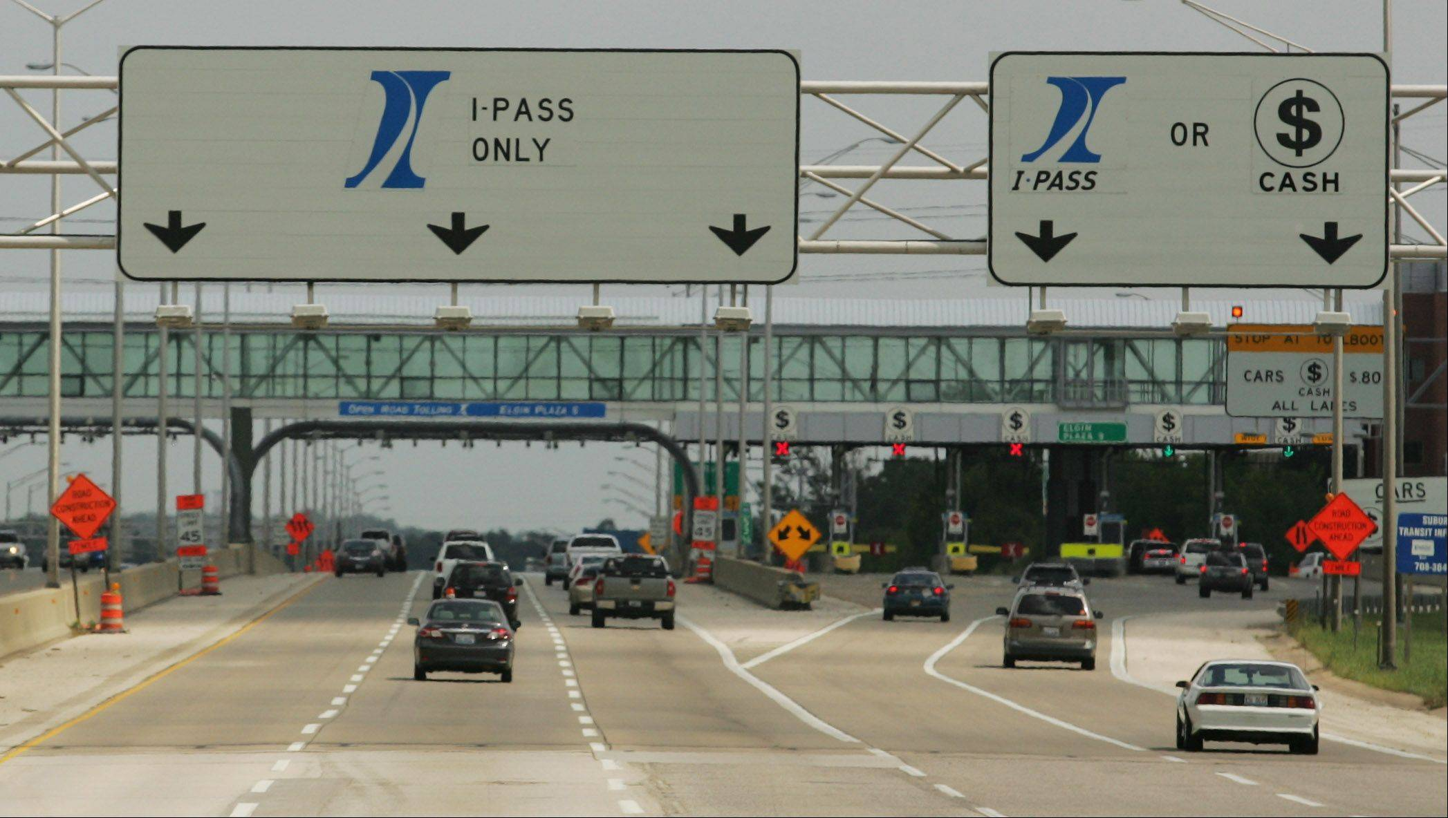 As rate hike looms, tollway workers get free I-PASS