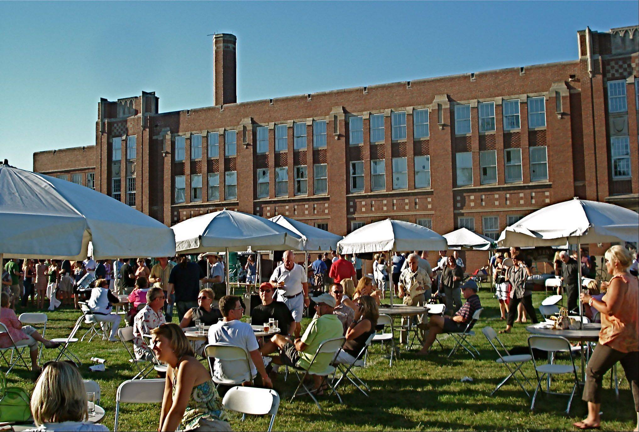 The second North Shore Wine, Beer, Cigar, and Food Festival runs from 3 to 8:30 p.m. Saturday, Aug. 27, at the Brainerd building in Libertyville. The event is a fundraiser for a group trying to convert the building into a community center.