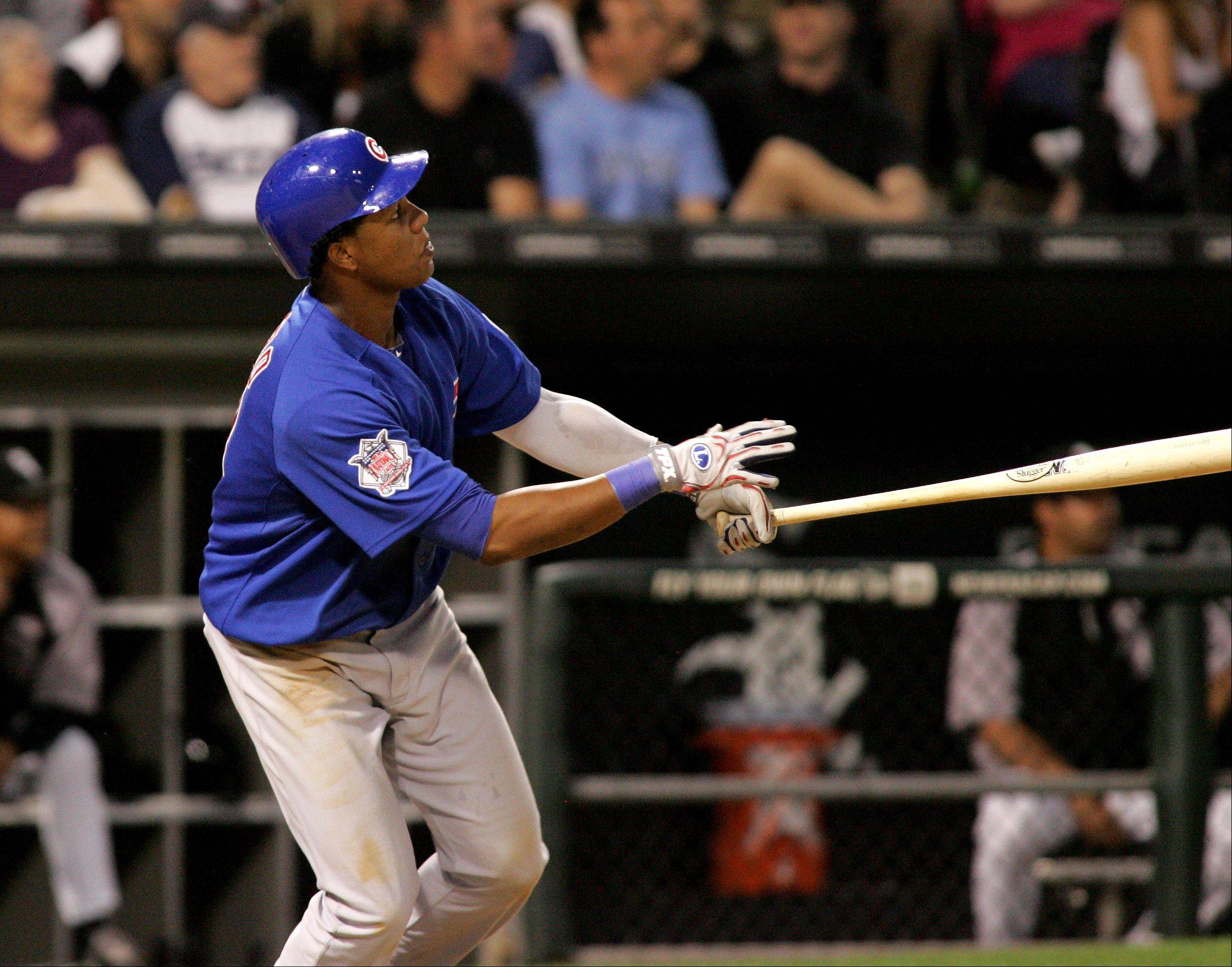 Bev Horne/bhorne@dailyherald.com Cubs shortstop Starlin Castro wasn�t in the starting lineup Monday night after showing a lack of concentration on the field the previous night.