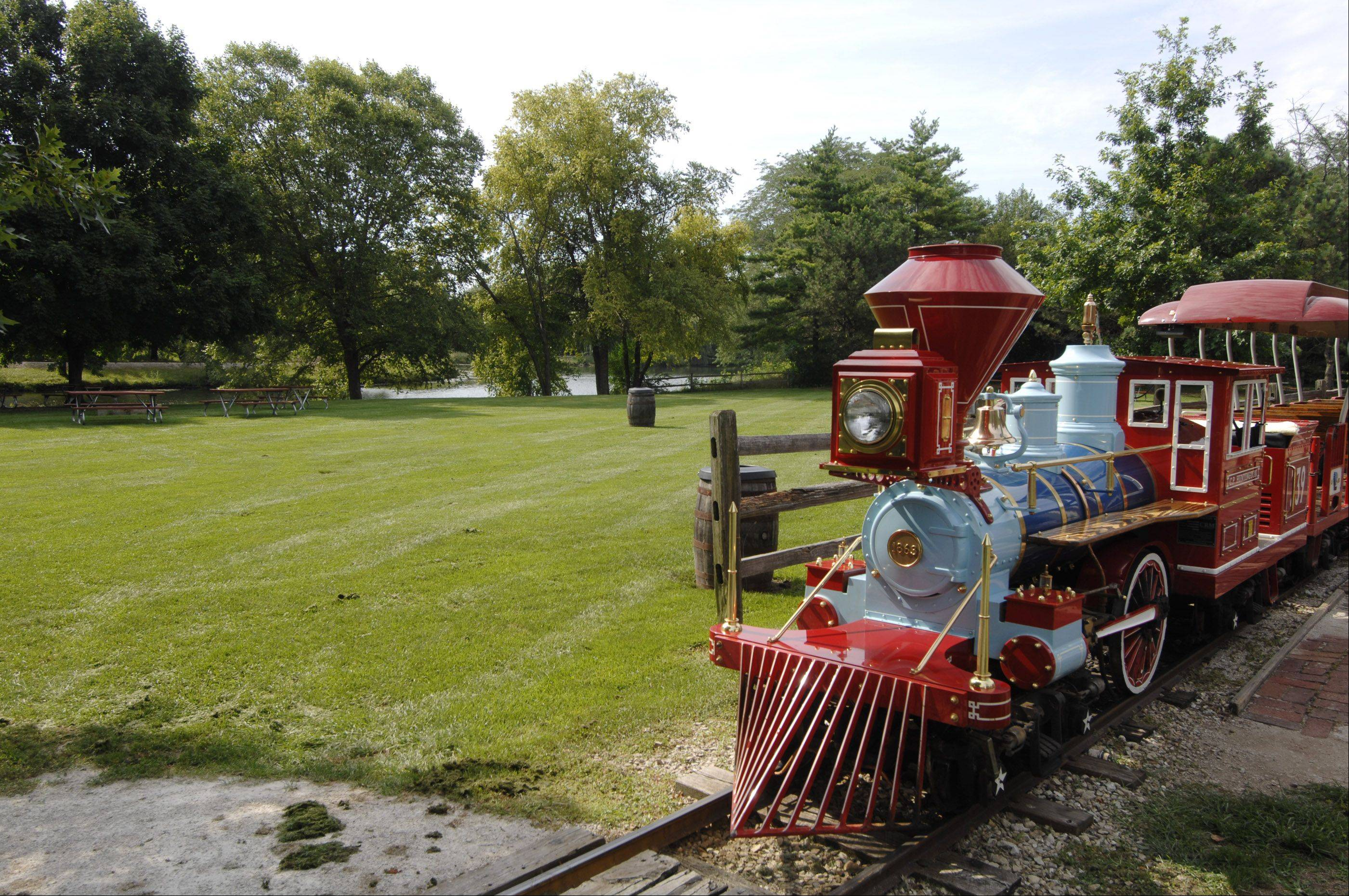 The miniature train around Blackberry Farm's grounds isn't changing as the farm undergoes $1.5 million in renovations, but a paddle boat dock and boathouse will be added to the shores of Lake Gregory near the train depot.