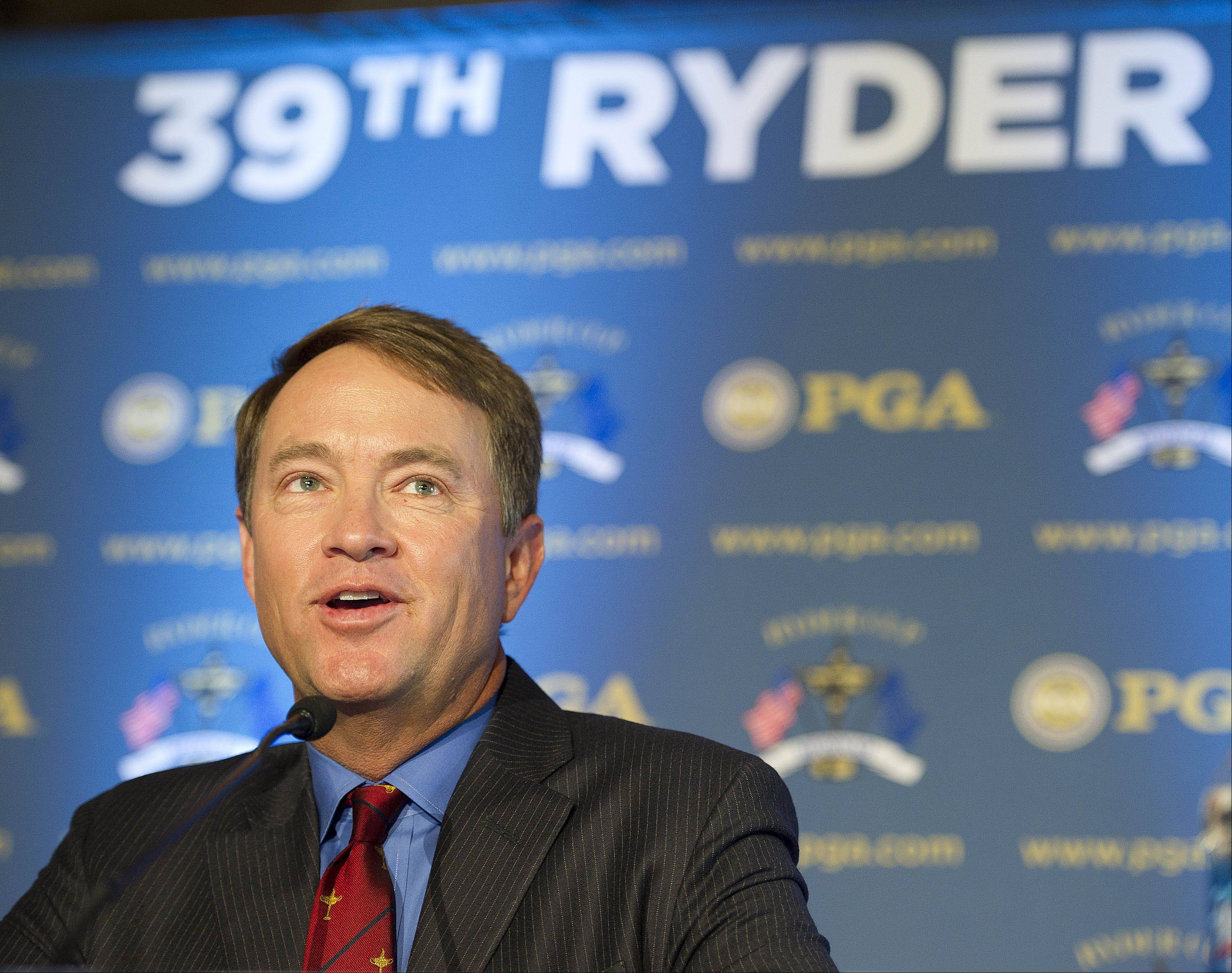 United States Ryder Cup captain Davis Love III will join European captain Jose Maria Olazabal at a special event next month at the Chicago Theatre to promote the 2012 event at Medinah Country Club. Tickets went on sale today.