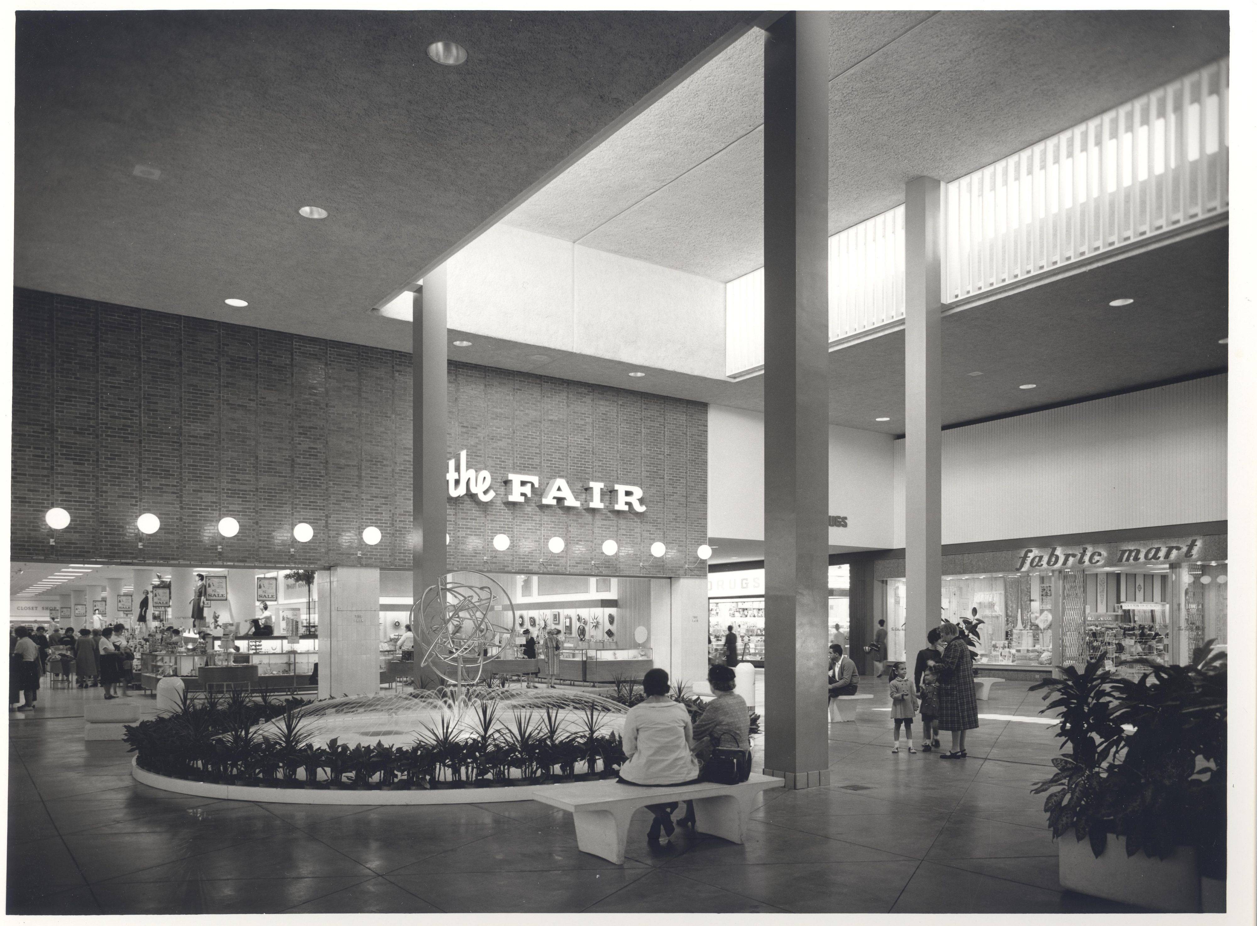 When Randhurst Mall opened in 1962 in Mount Prospect, it was the first air-conditioned shopping center.