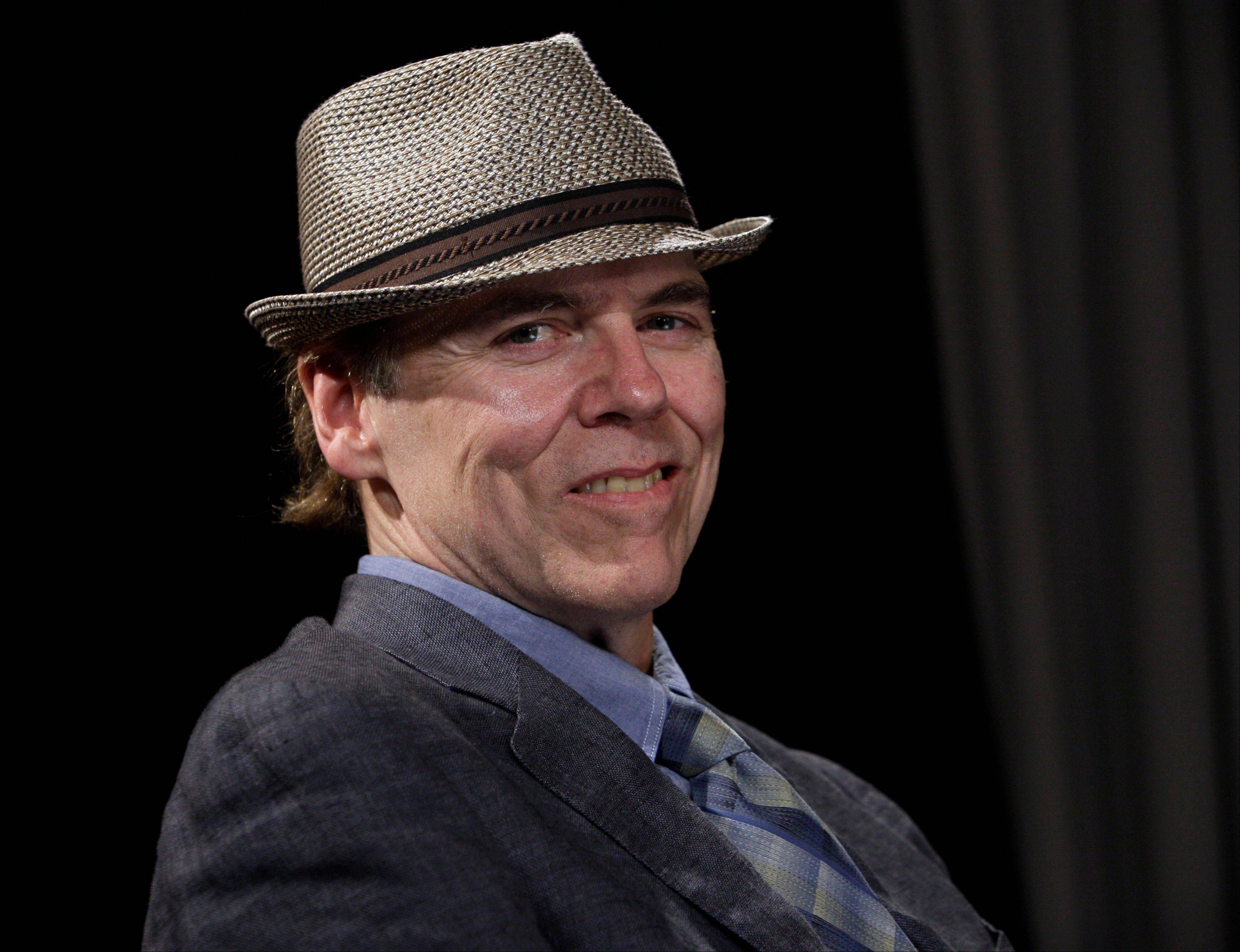 """I'm still in love with it. ... You're always in love with the record you just made,"" singer-songwriter John Hiatt says of his latest album, ""Dirty Jeans and Mudslide Hymns."""