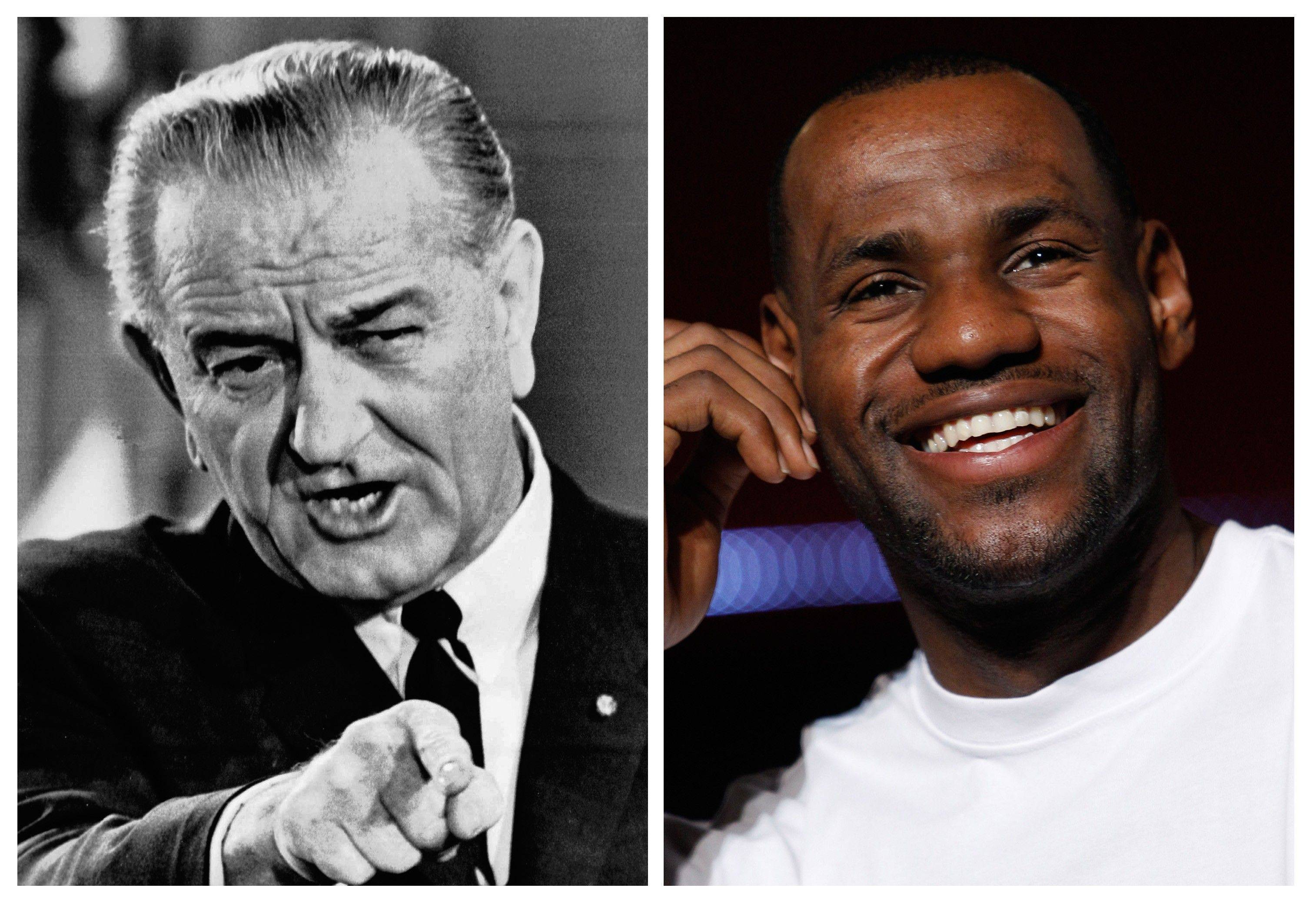 Among the 75 items on this year's Beloit College Mindset List is a reminder that the initials LBJ that once stood for President Johnson now make teenagers think of NBA star James. The list, released Tuesday was begun as a way to remind professors that cultural references familiar to them might draw blank stares from college freshmen born mostly in 1993.