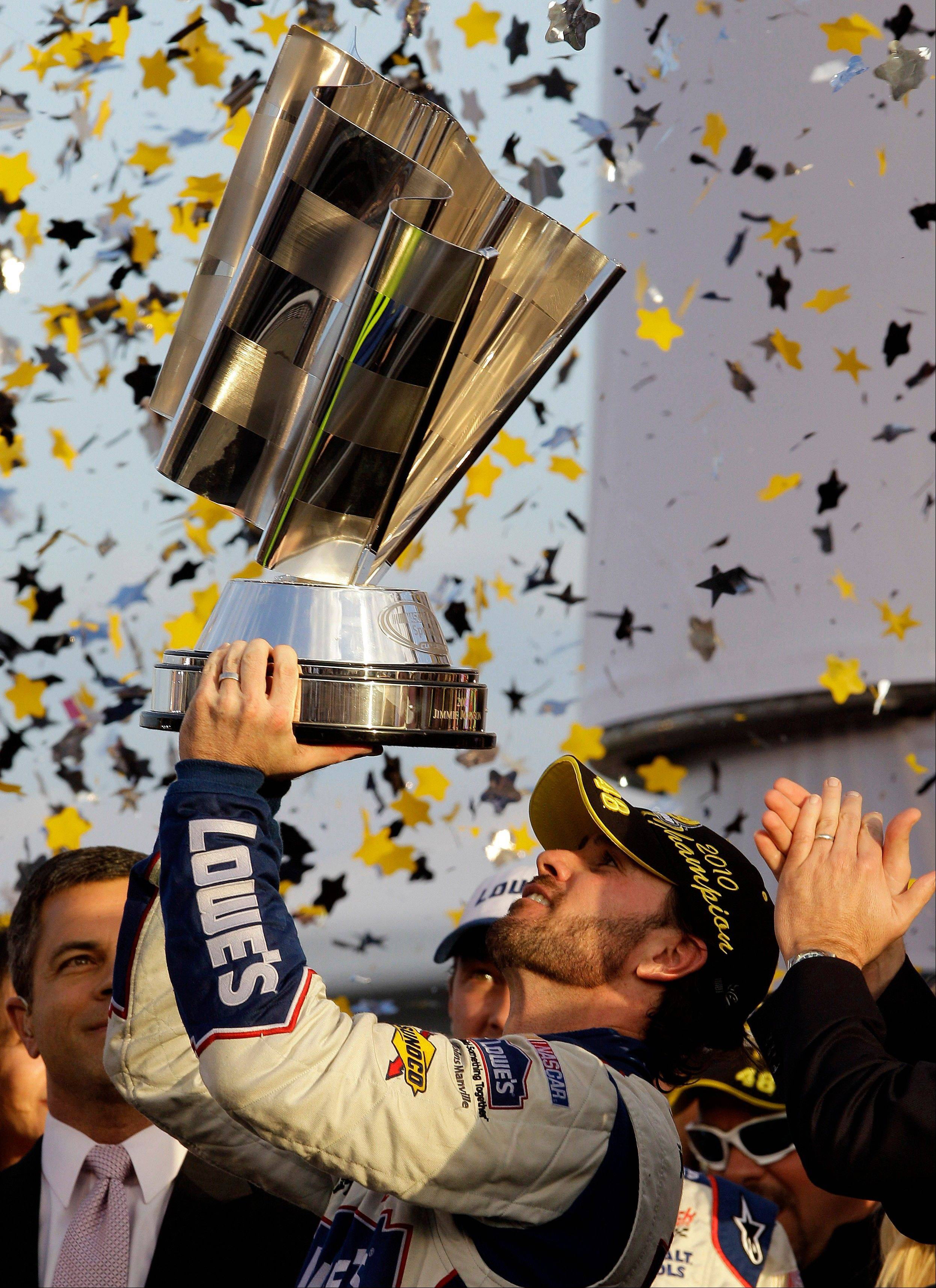After five Sprint Cup titles in a row, Jimmy Johnson is again poised to make a bid for the NASCAR championship. (