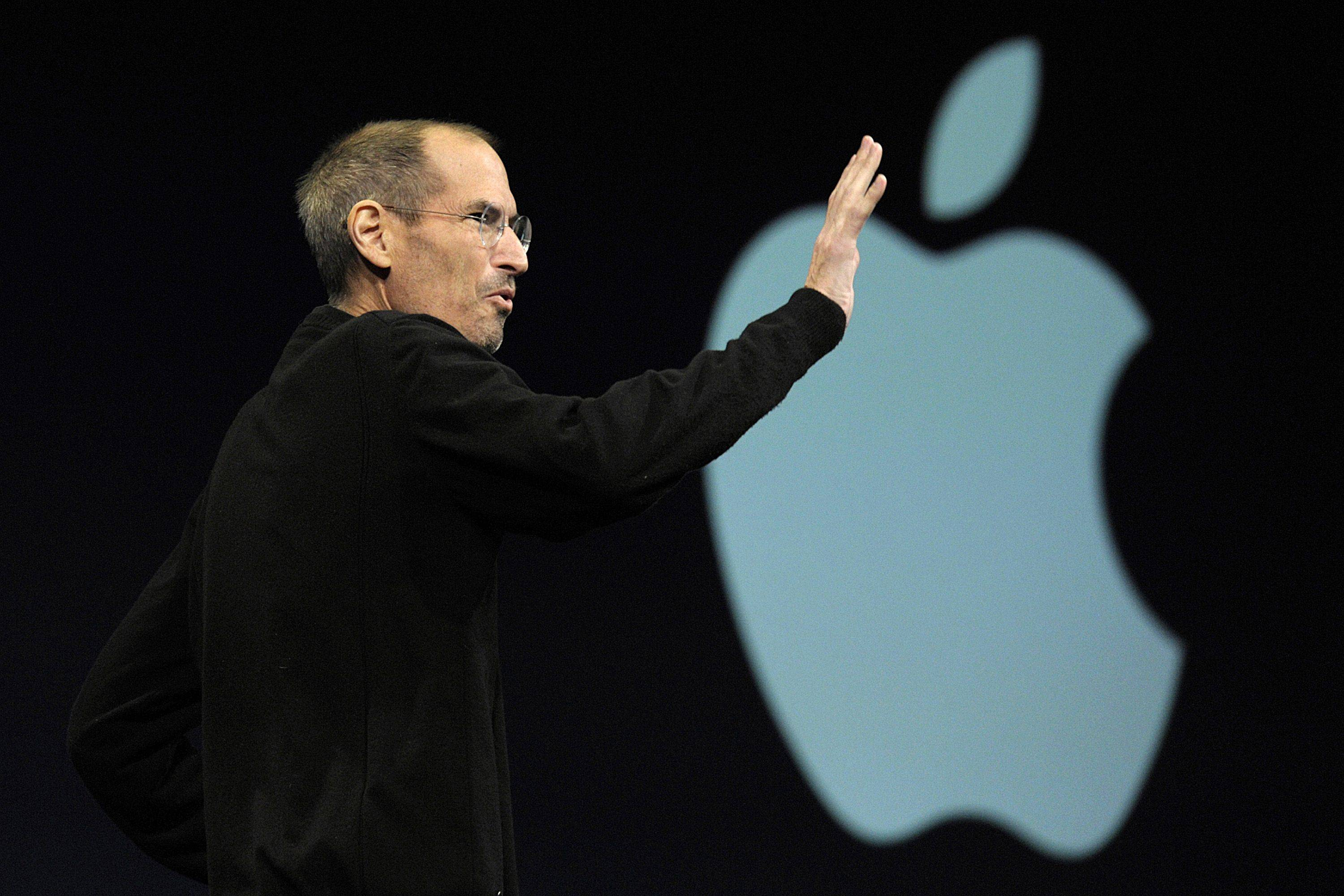 Stock prices rose at Sony, Nokie, Samsung and HTC Corp. after Steve Jobs announced his retirement as the CEO of Apple.