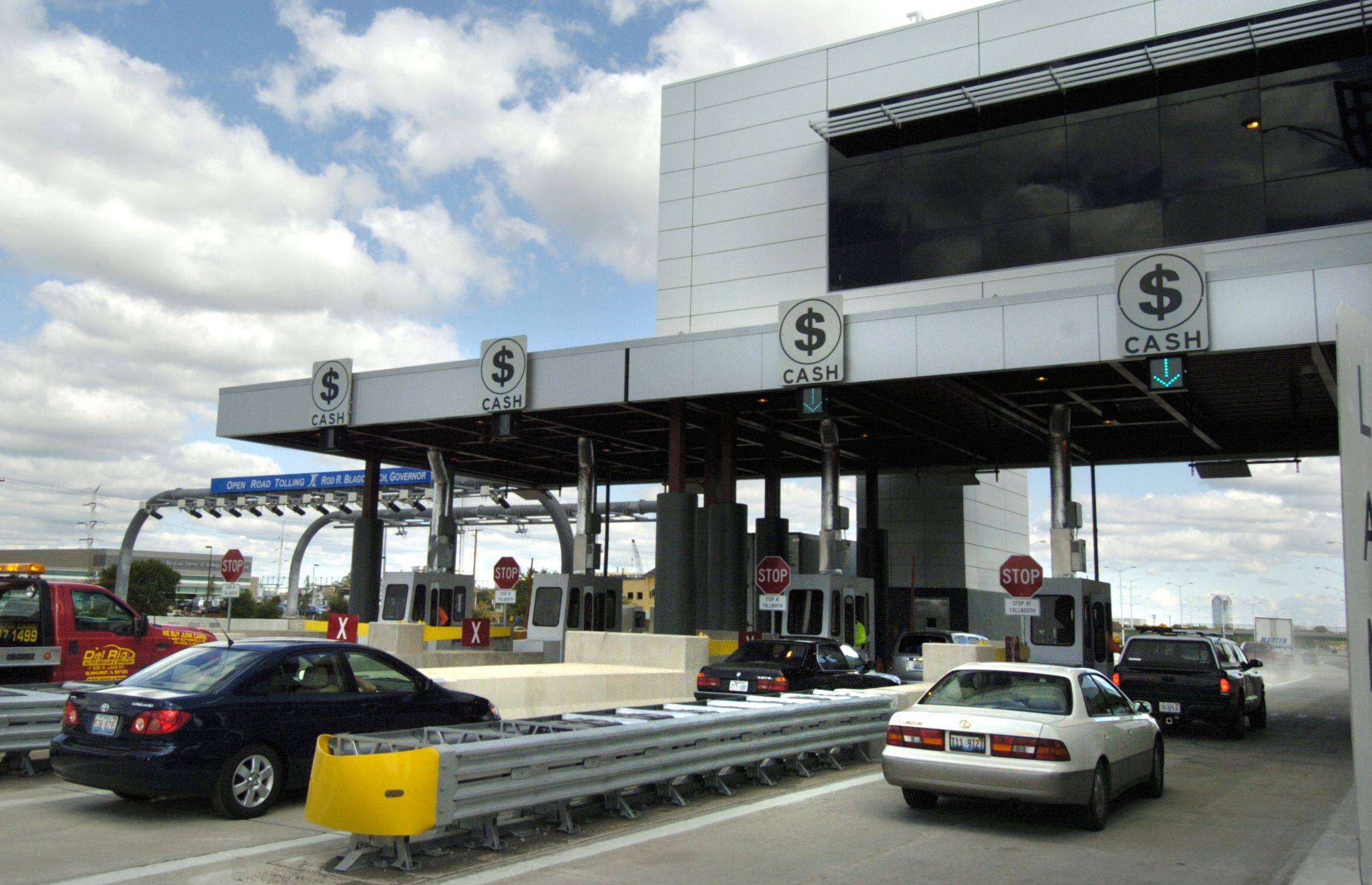 Drivers pay higher tolls starting Jan. 1