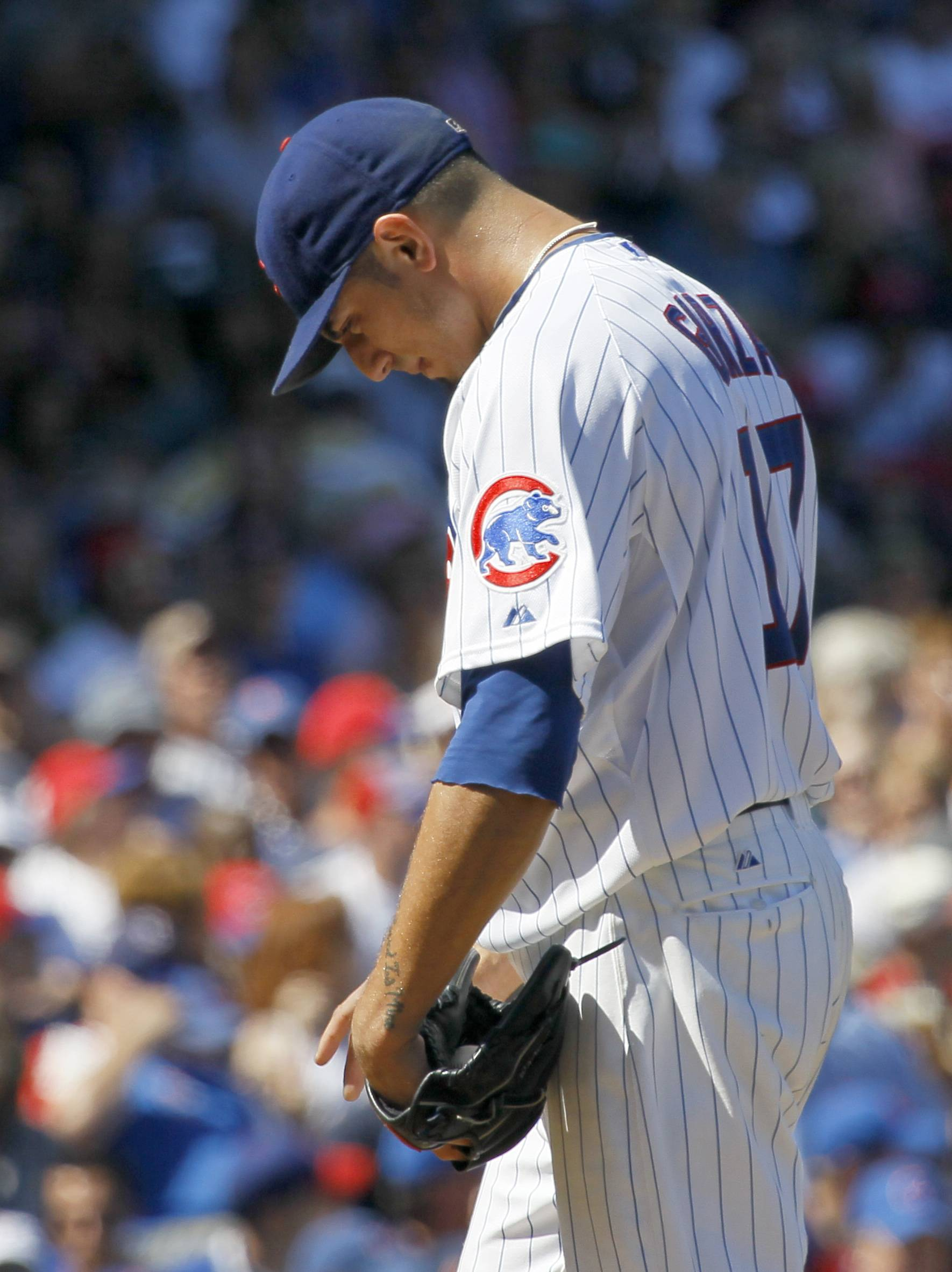 Cubs commit 4 errors in 8-3 loss