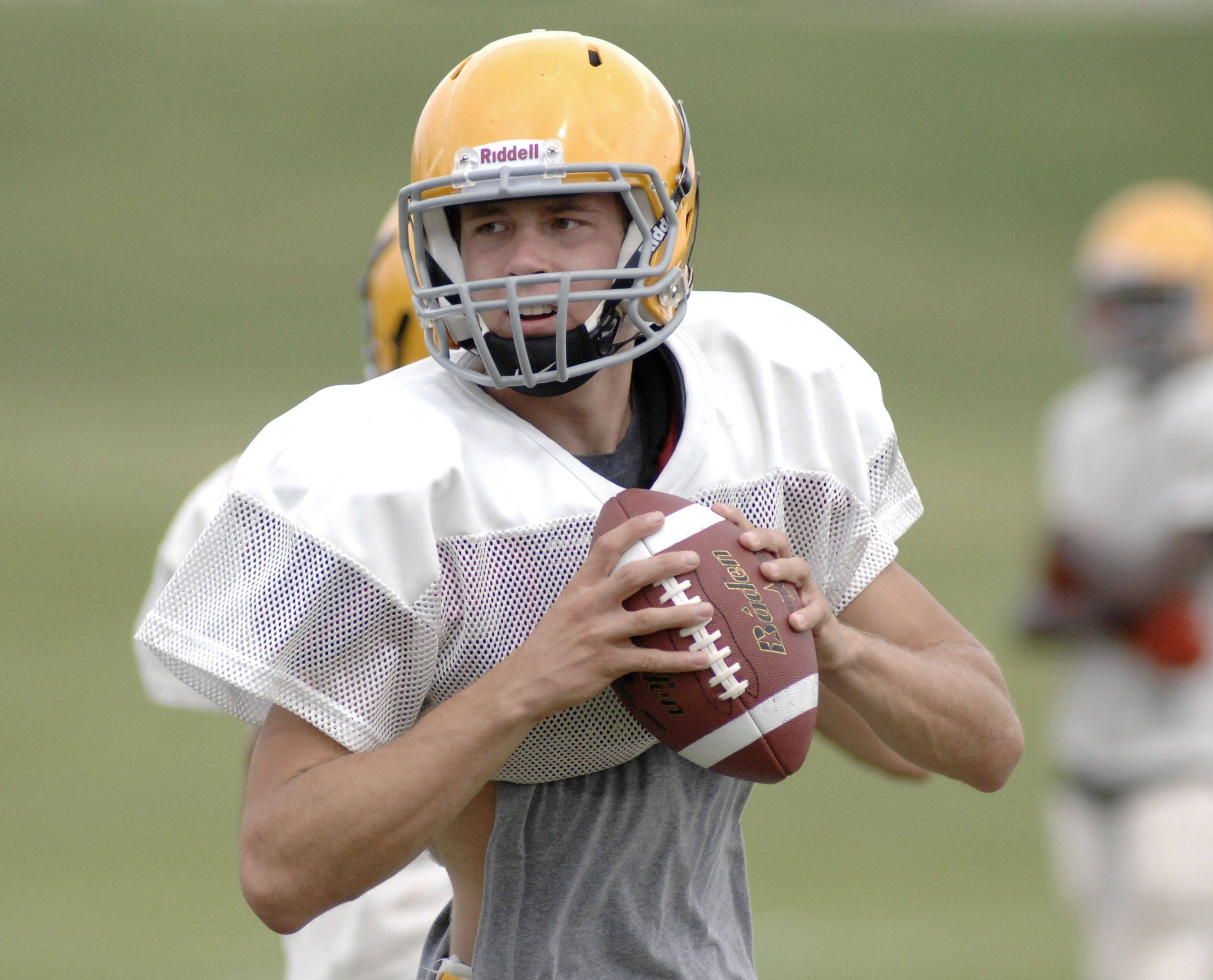 Jacobs quarterback Jason Judson is a three-year starter who will try to help the Golden Eagles capture their second straight playoff berth.