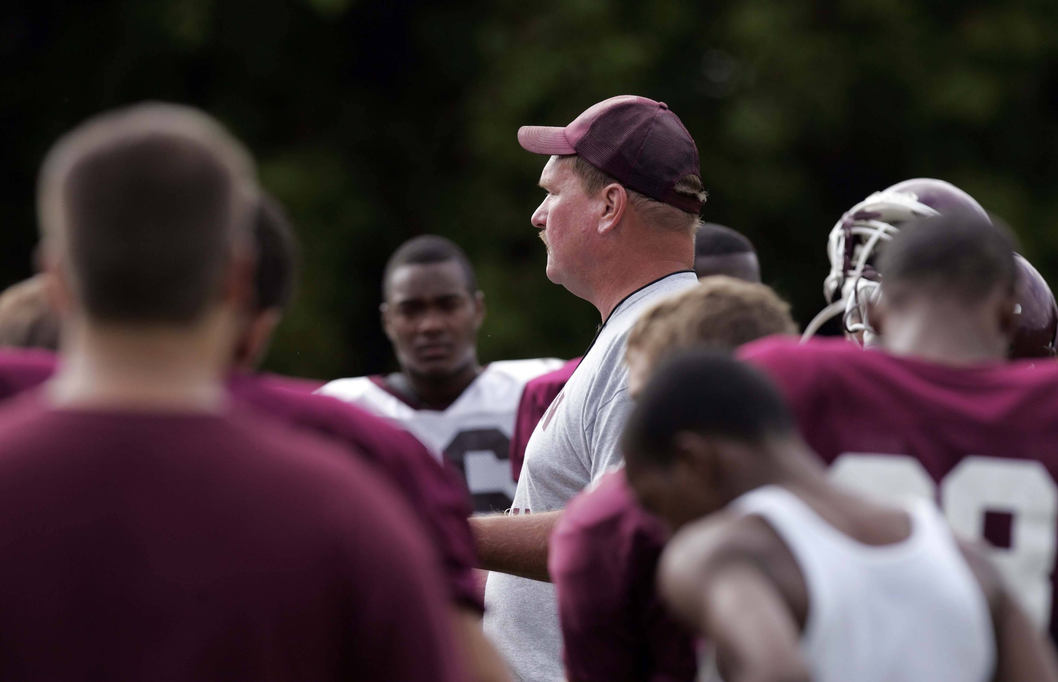 Elgin football head coach Dave Bierman will lead his Maroons against Dundee-Crown tonight in the season opener at Memorial Field.
