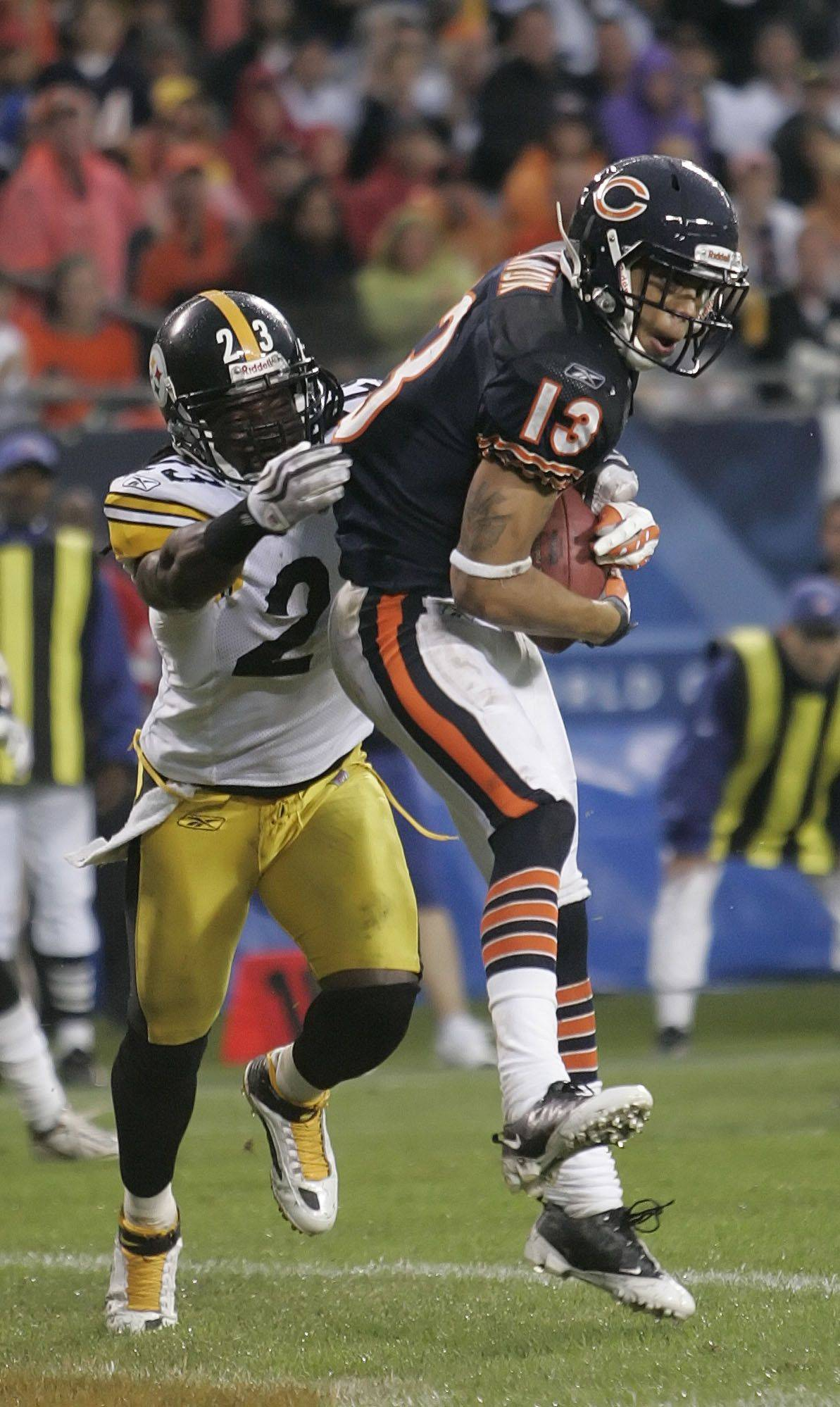 Johnny Knox could be back soon as the Bears' No. 1 wide receiver.