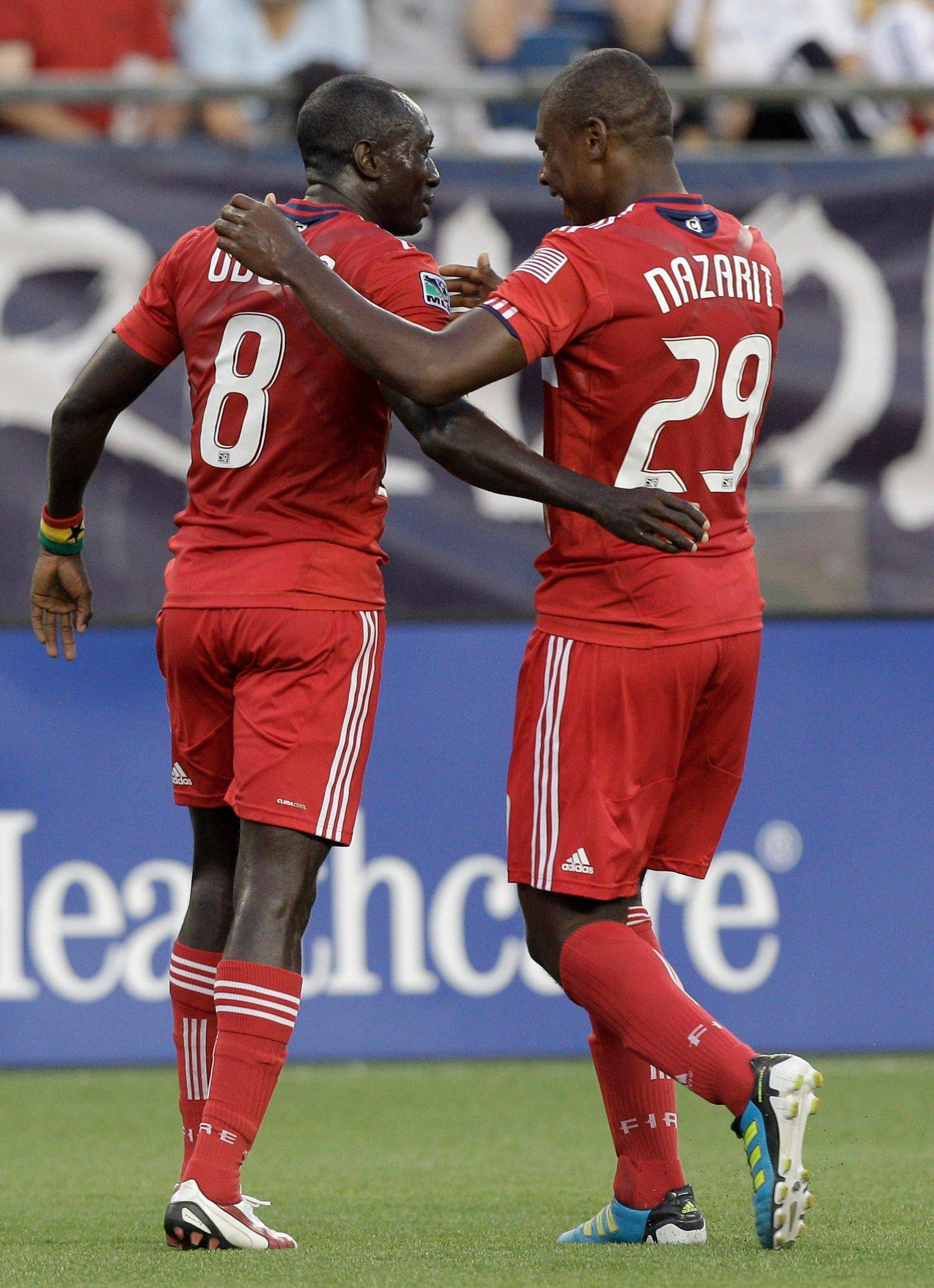 Chicago Fire midfielder Dominic Oduro has a chance to become the Fire's first player to score more than 10 goals since Damani Raplh in 2004.