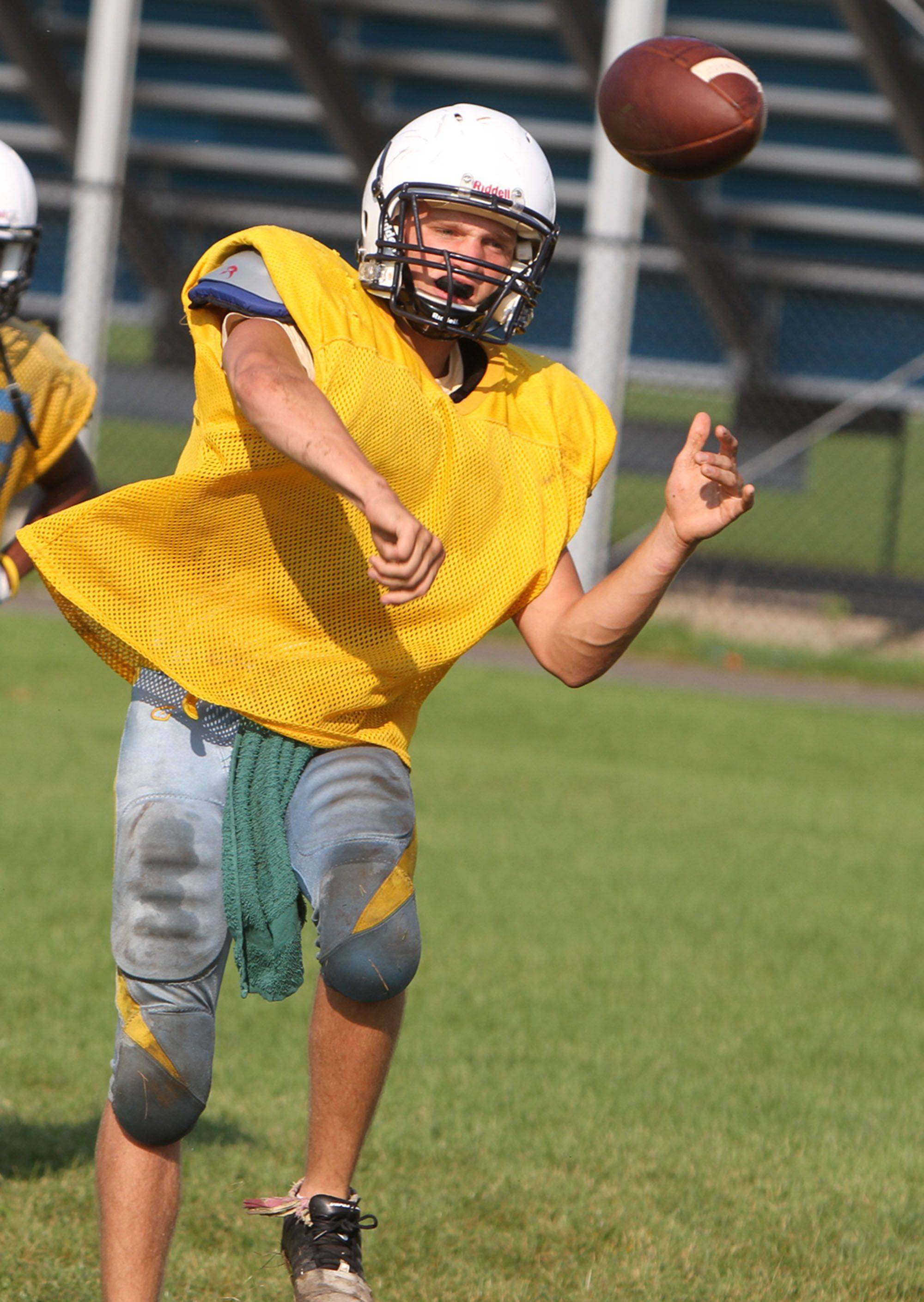 Maine West looks to make a move in the Central Suburban North with senior quarterback Jake Korbecki.
