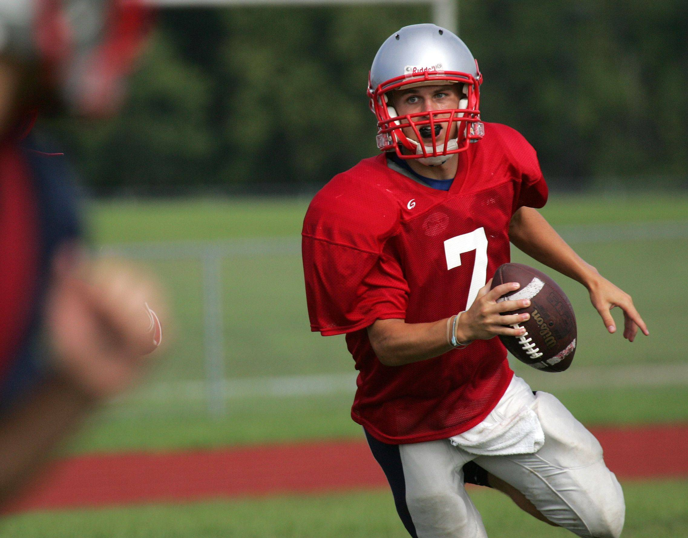 Quarterback Zach Gross will be at the controls for South Elgin this fall.