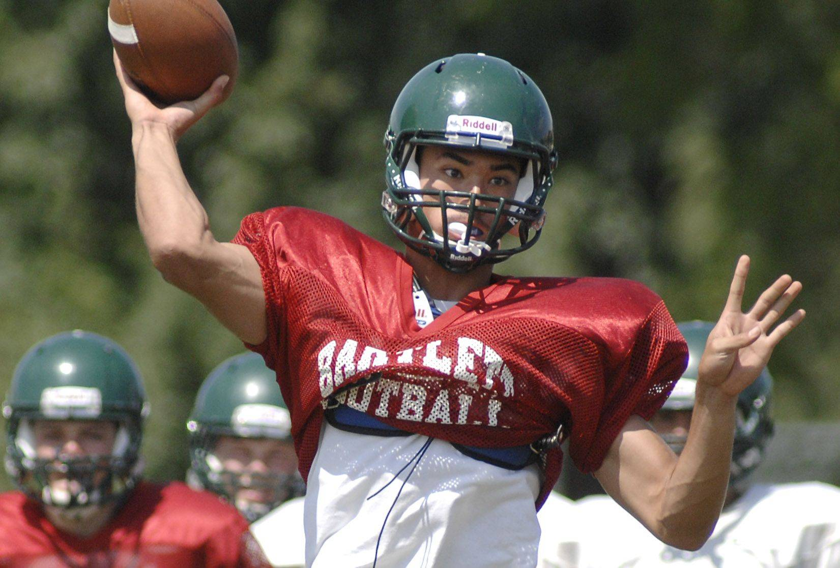 Bartlett quarterback AJ Bilyeu is ready to lead the Hawks again this season.