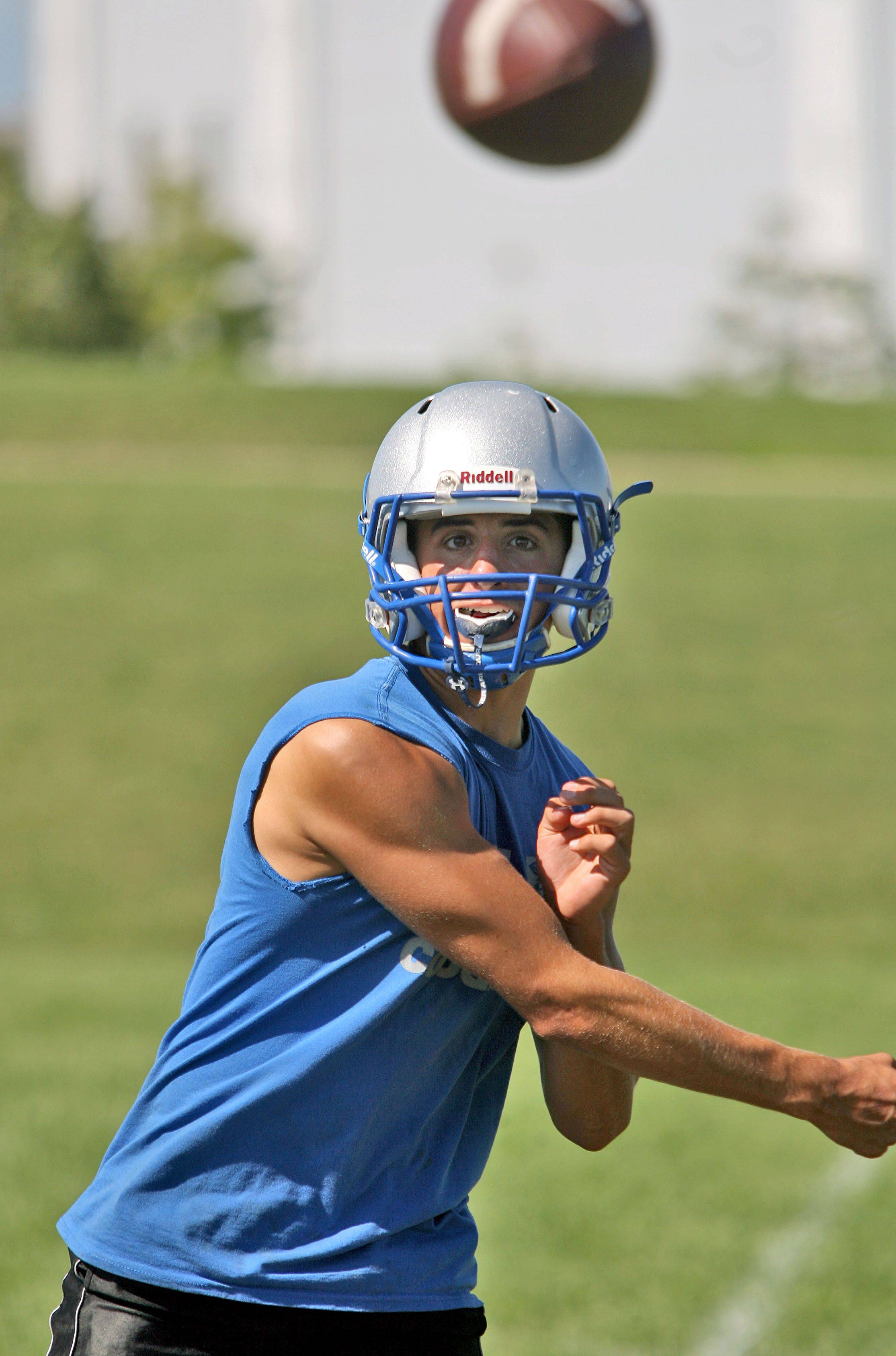 Quarterback Steve Nelson is one of the higher-profile names returning at Vernon Hills, which hopes to maintain its usual high standards this season.