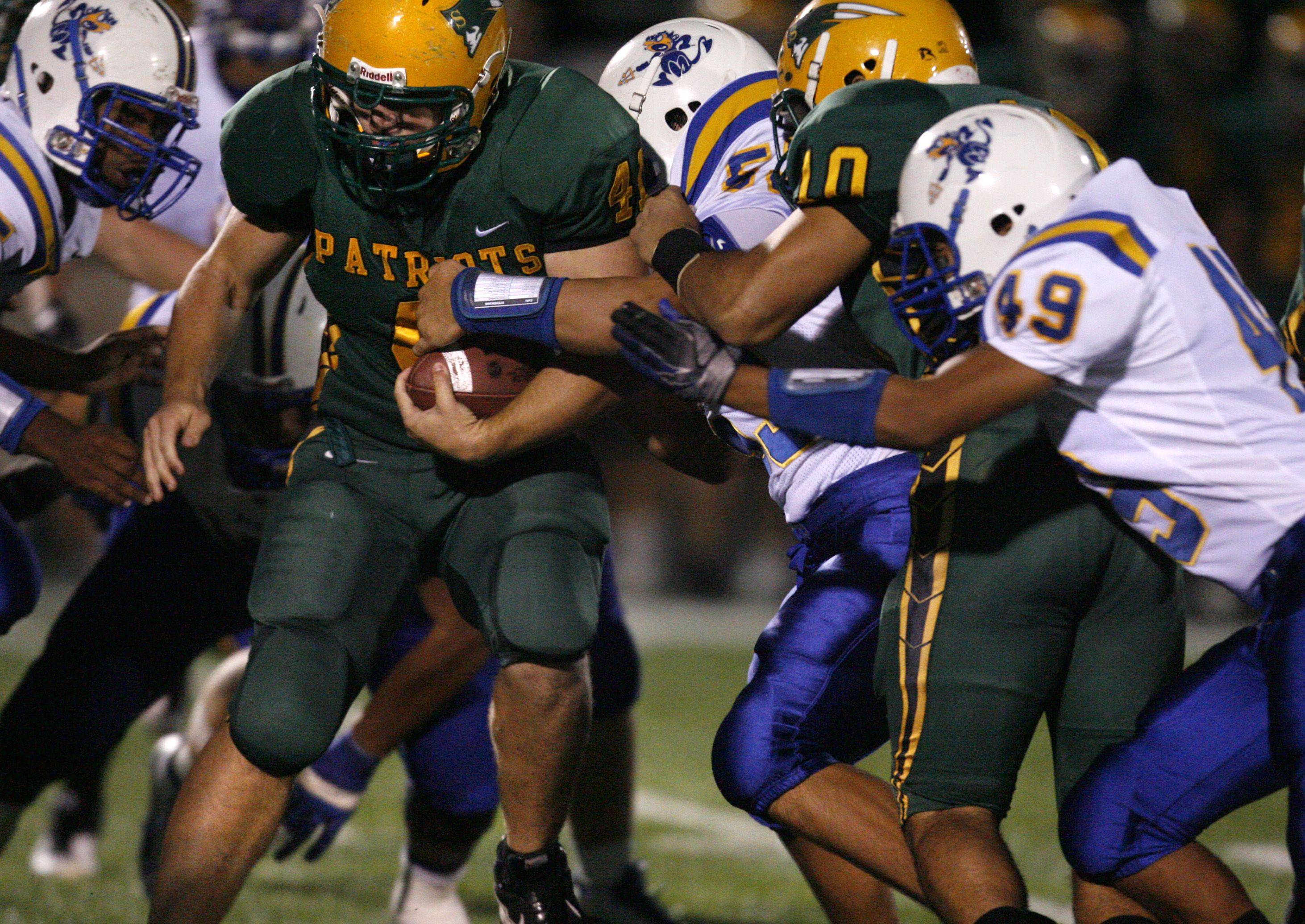Expect to see more of Stevenson senior Nate Kahn in the thick of things this fall.