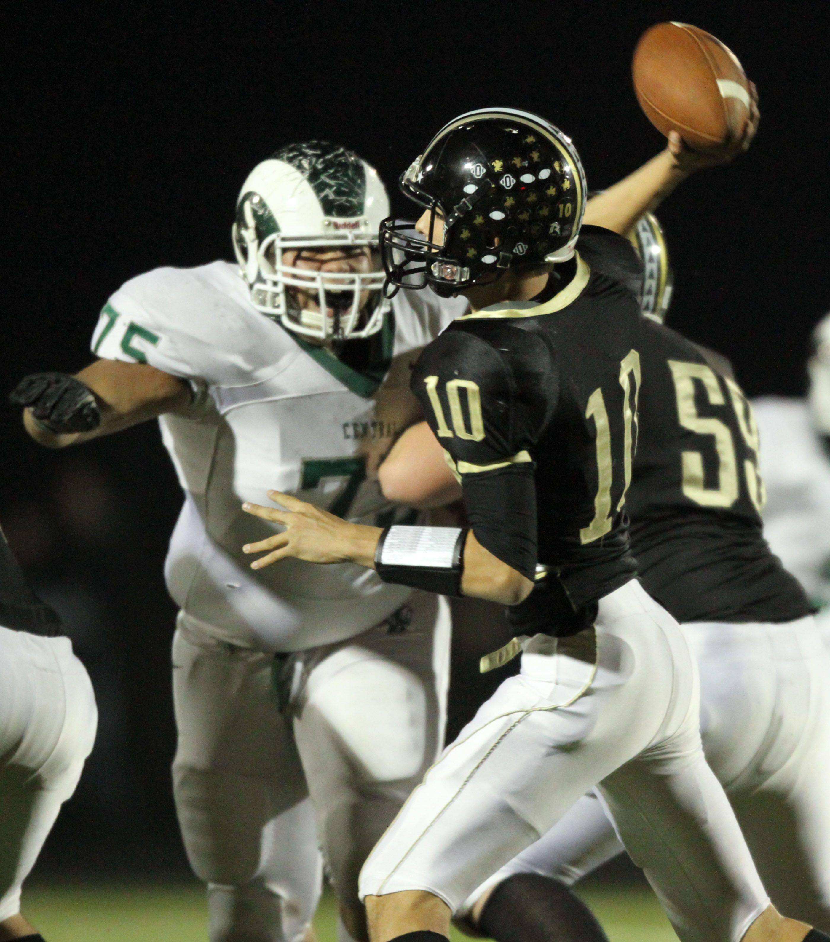 Grayslake North quarterback and strong all-around athlete A.J. Fish returns to direct the Knights' offense this fall.