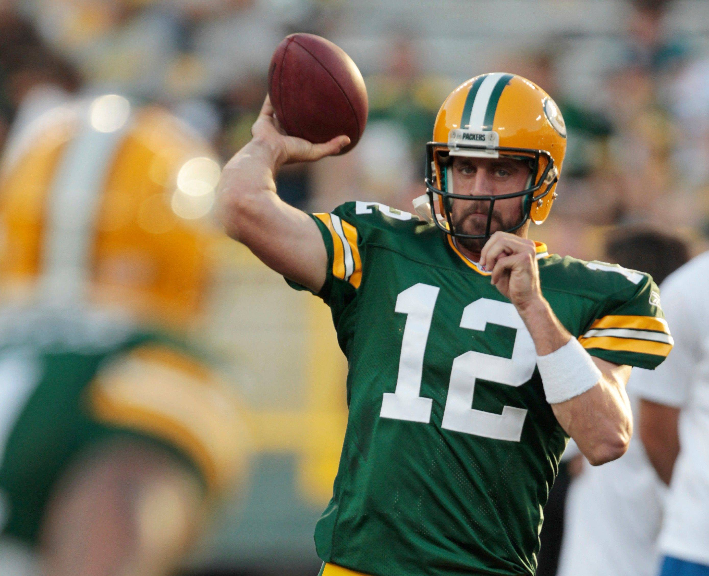 Green Bay's Aaron Rodgers has averaged 28.7 TD passes and 4.3 TD runs since becoming a starter in 2008.