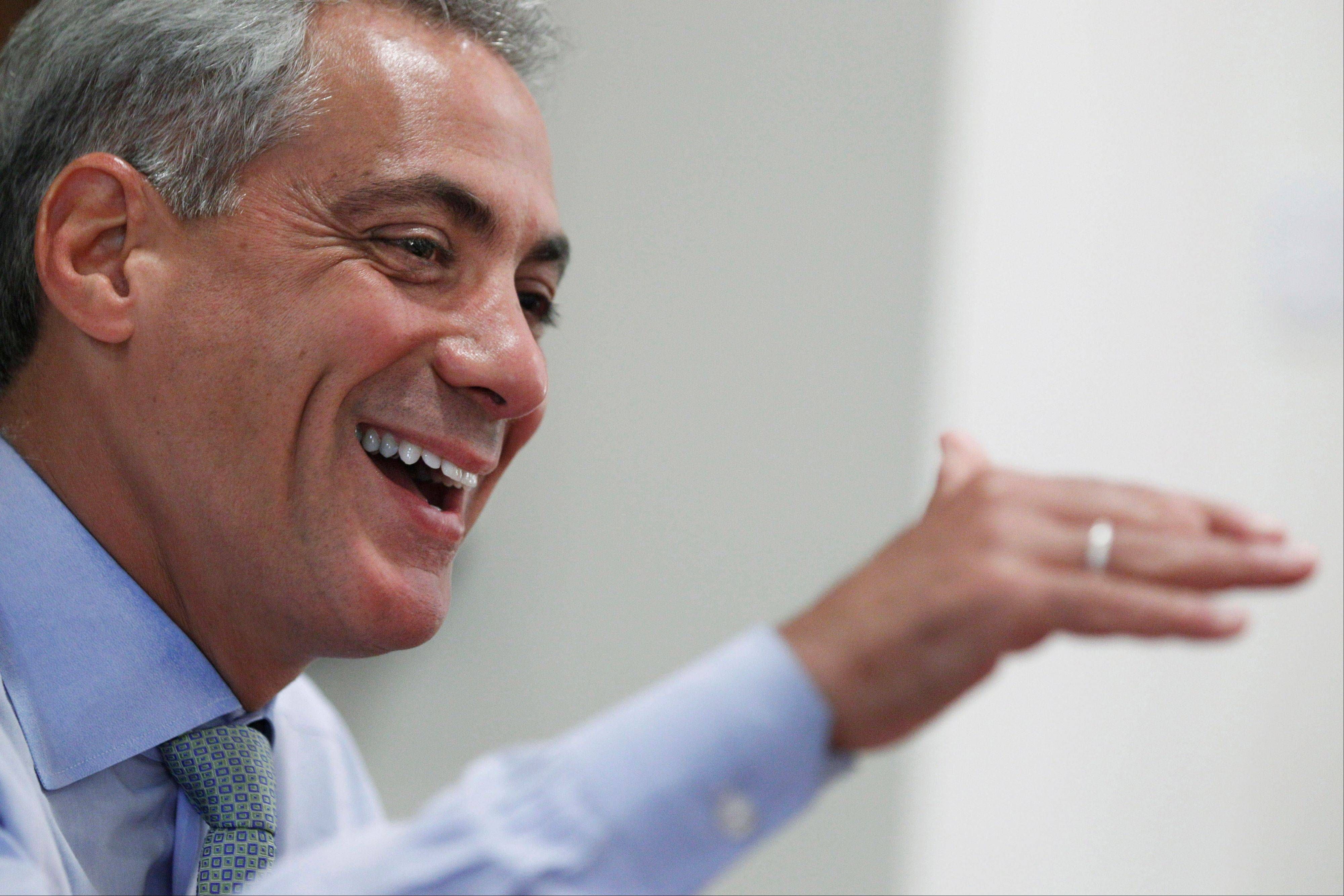 Chicago Mayor Rahm Emanuel, a former dancer, is bringing his longtime passion for dance to his new job as mayor.