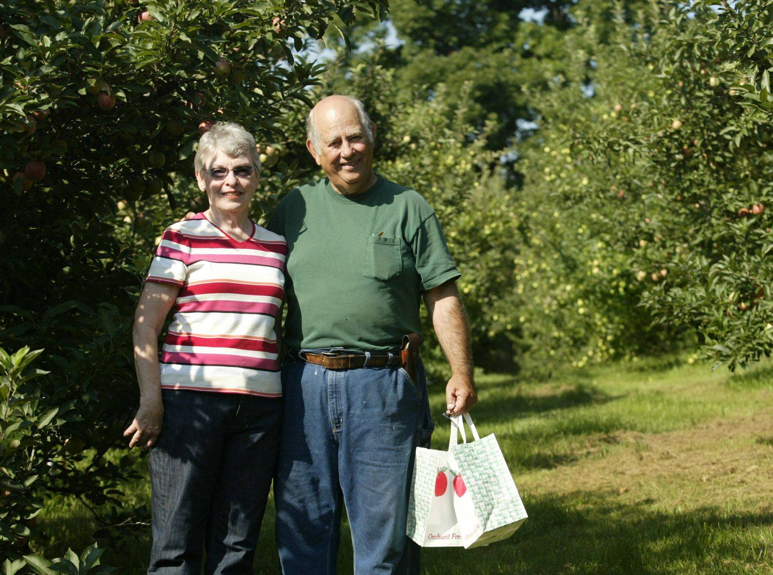 Velma and Mike Downes turned a hobby into the More Than Delicious apple orchard in Woodstock.