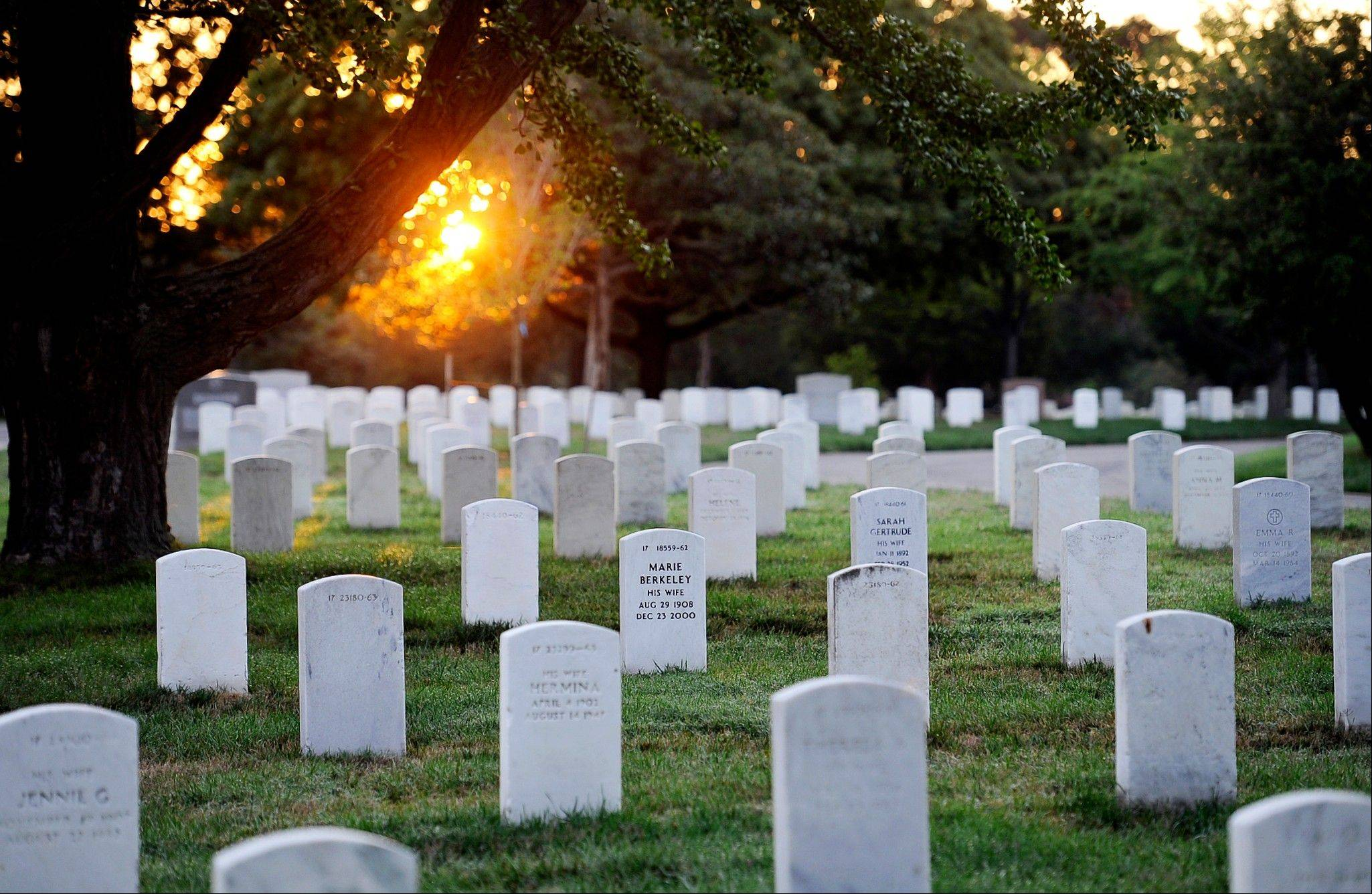 The Army Old Guard Task Force Christman photographed and cataloged more than 219,00 grave markers and the front of more than 43,000 sets of cremated remains at Arlington National Cemetery in Arlington, Va.