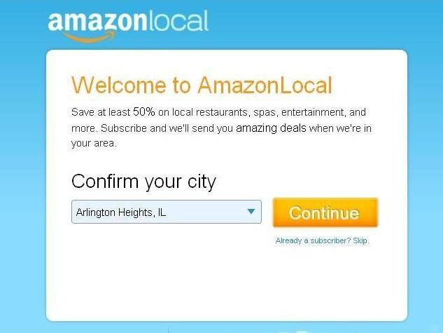 AmazonLocal already is available in the Chicago area.
