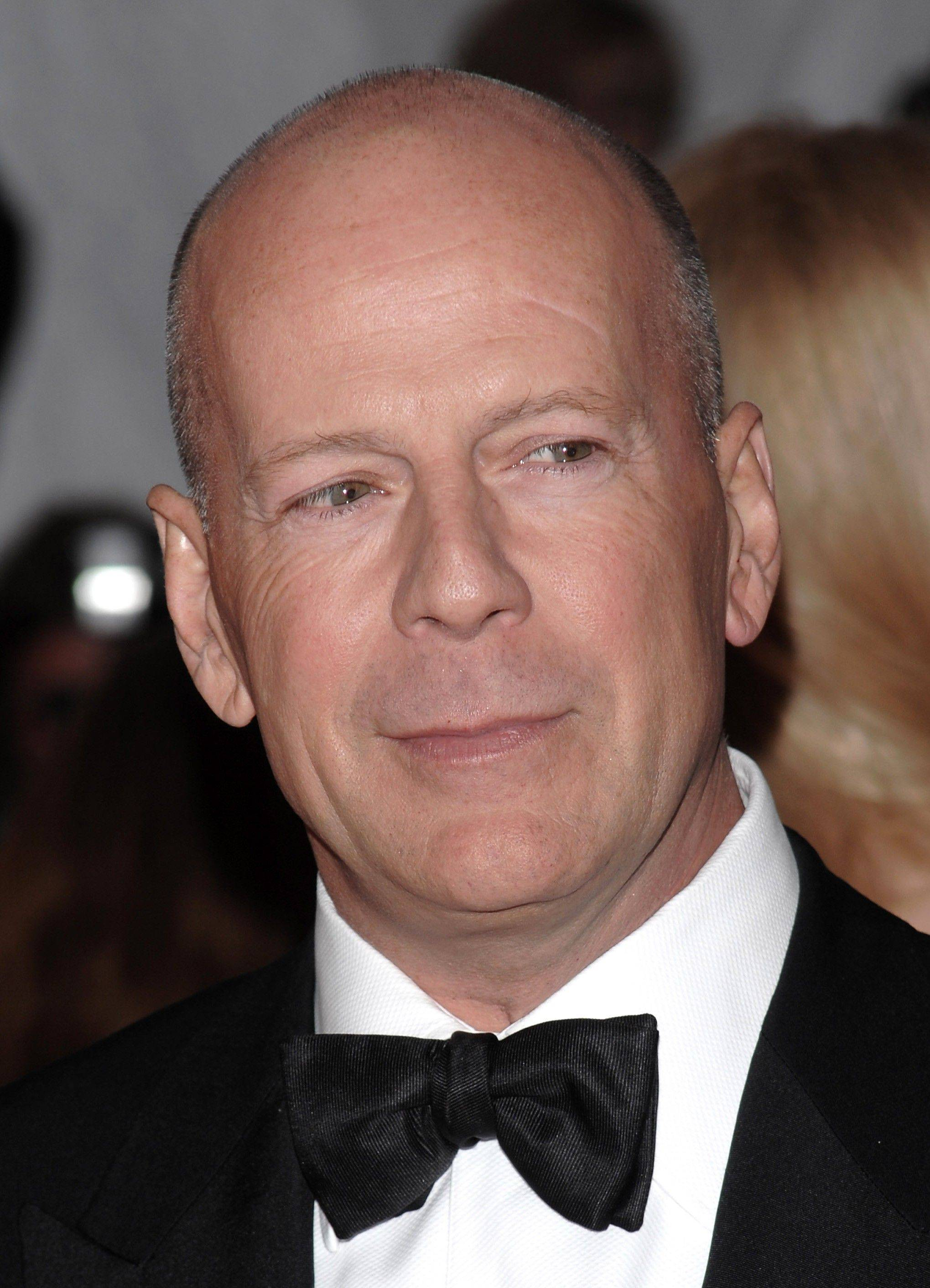 "Bruce Willis's mob hit-man travels to the future in next year's movie ""Looper,"" which was filmed in China."