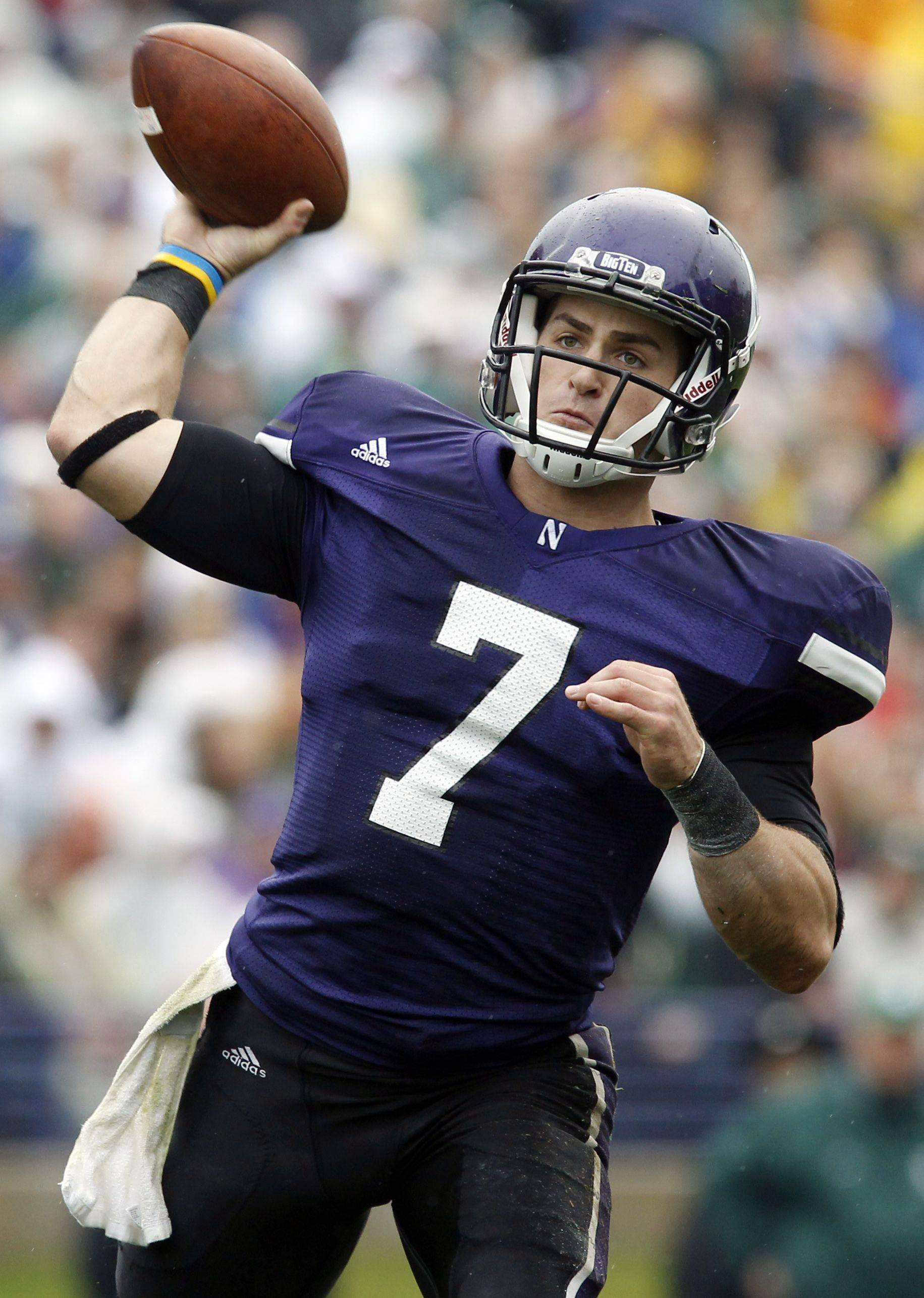 Northwestern quarterback Dan Persa hopes very soon to be completely recovered from his Achilles' tendon surgery.