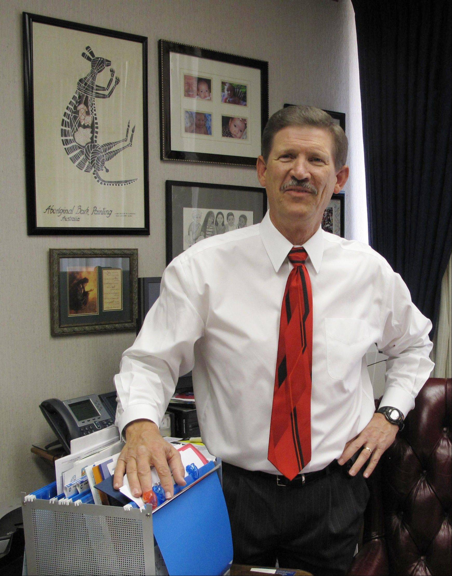Fresno County School Superintendent Larry Powell is forgoing $800,000 in compensation over the next three years of his term. Until his term expires in 2015, Powell will run 325 schools and 35 school districts with 195,000 students, all for less than a starting California teacher earns. As he prepares for retirement, he wants to ensure that his pet projects survive California budget cuts.
