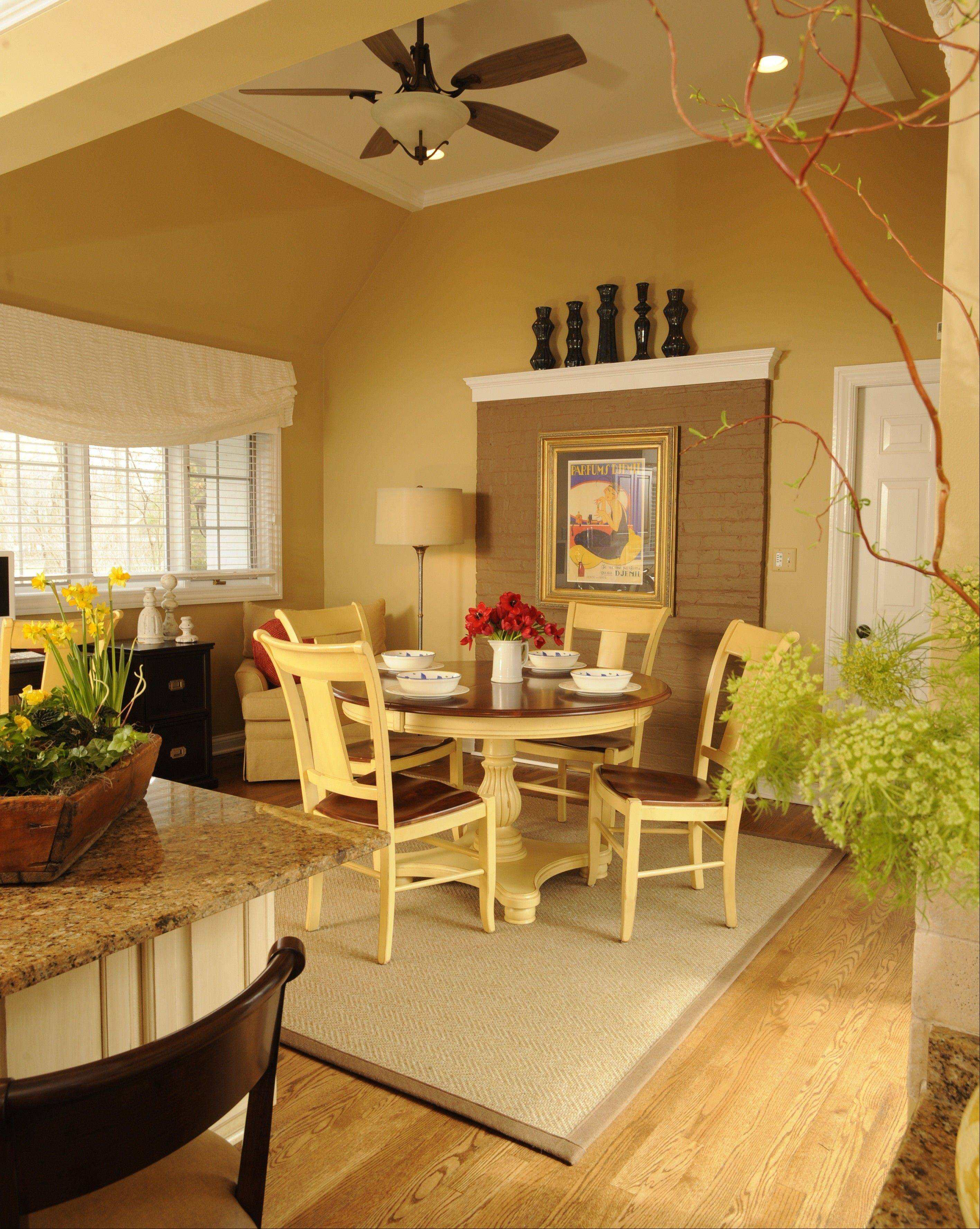 Susan Brunstrum of sweetpeasdesign updated this Libertyville kitchen.