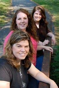 Gretchen Cawthon, Kelli Kopetz and Katrina Fisher are the founding members of the Decatur Christian band Four Wall Flight.