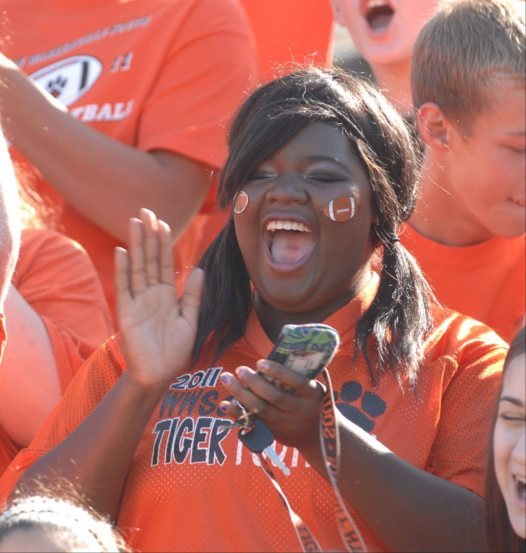 It was just the first game of the season, but with an enthusiastic crowd and ESPN cameras catching the action, it felt like there was a state title on the line Sunday when Wheaton Warrenville South and Glenbard West high schools renewed their gridiron rivalry. Glenbard West won the contest, 21-7. For more, see Sports.