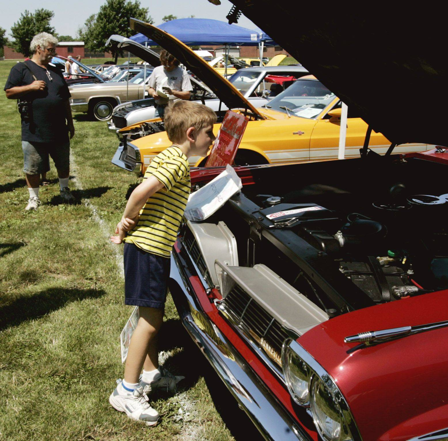 Events like the Glendale Heights Show and Shine Car Show are places to dream, reminisce and bond with fellow enthusiasts. About 200 vehicles are expected to compete in the show Sunday.