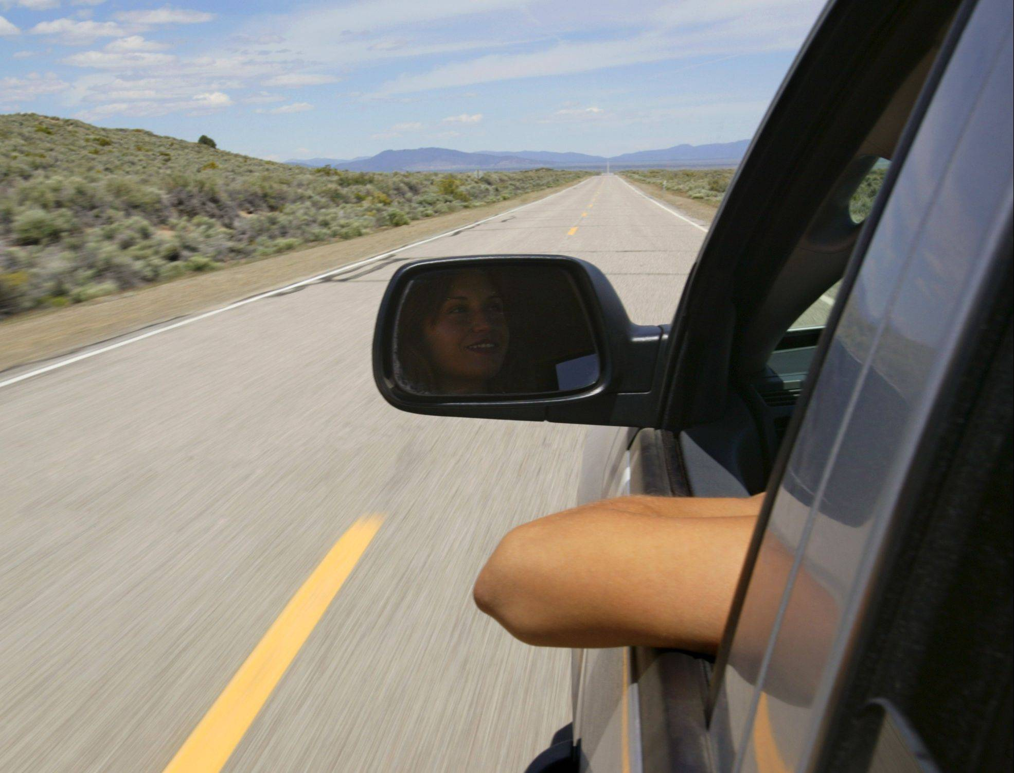 Sun exposure can add up for drivers who have long commutes. Combat the left-arm tan by wearing sunscreen every day.