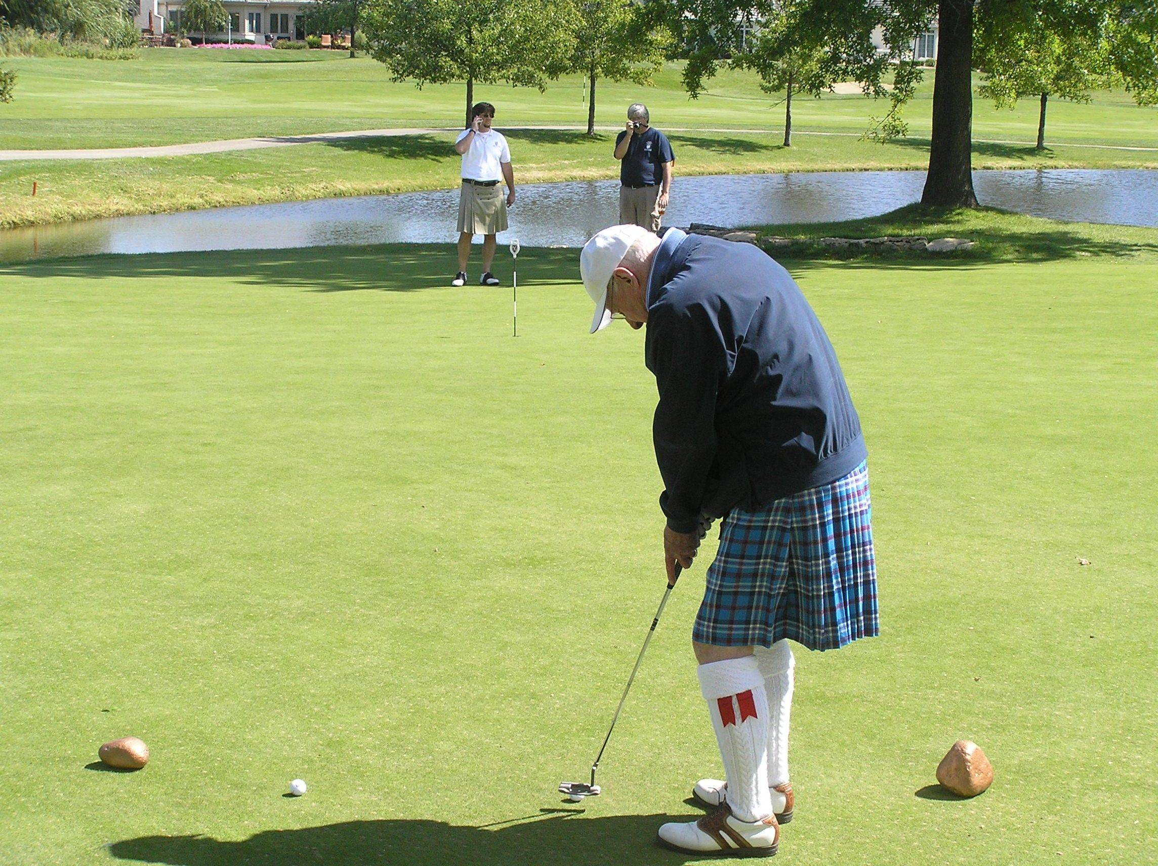 Kilts aren't required for golfers in the Chicago Kilted Classic outing on Sept. 1, but they're not out of place at the event benefiting the Illinois St. Andrew Society and the Scottish Home.